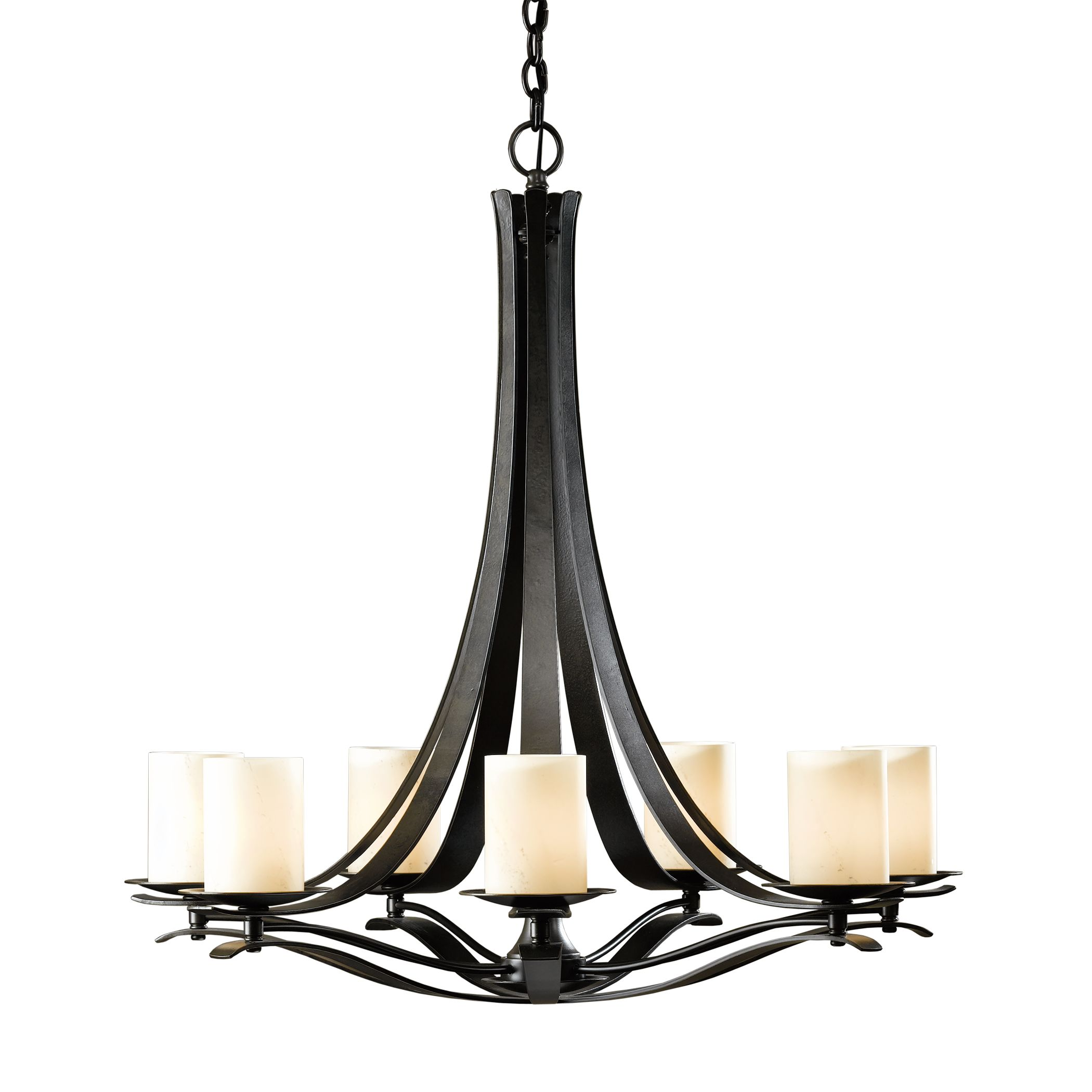 Simple Lines 15 Arm Chandelier Hubbardton Forge