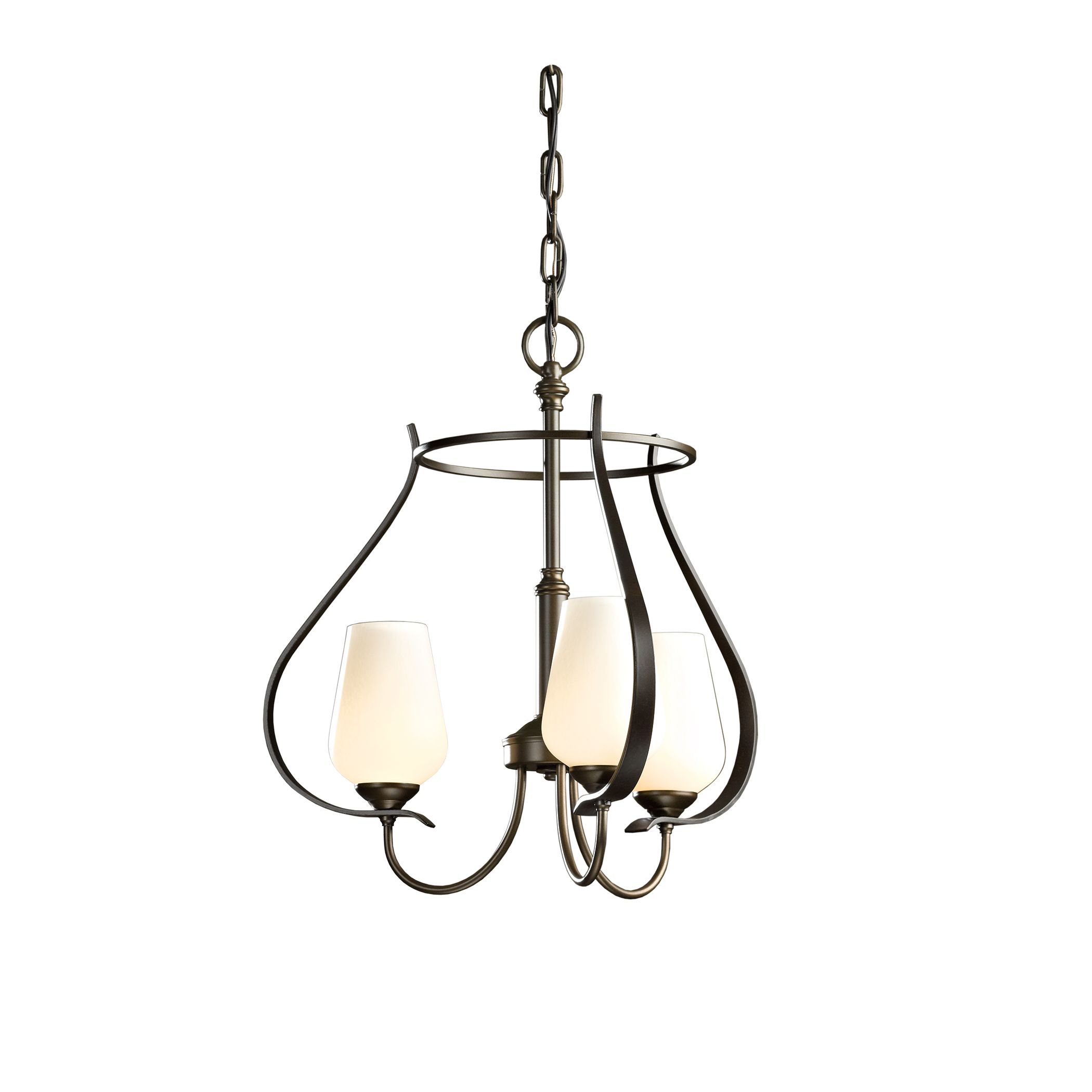 Flora 3 arm chandelier hubbardton forge aloadofball Image collections