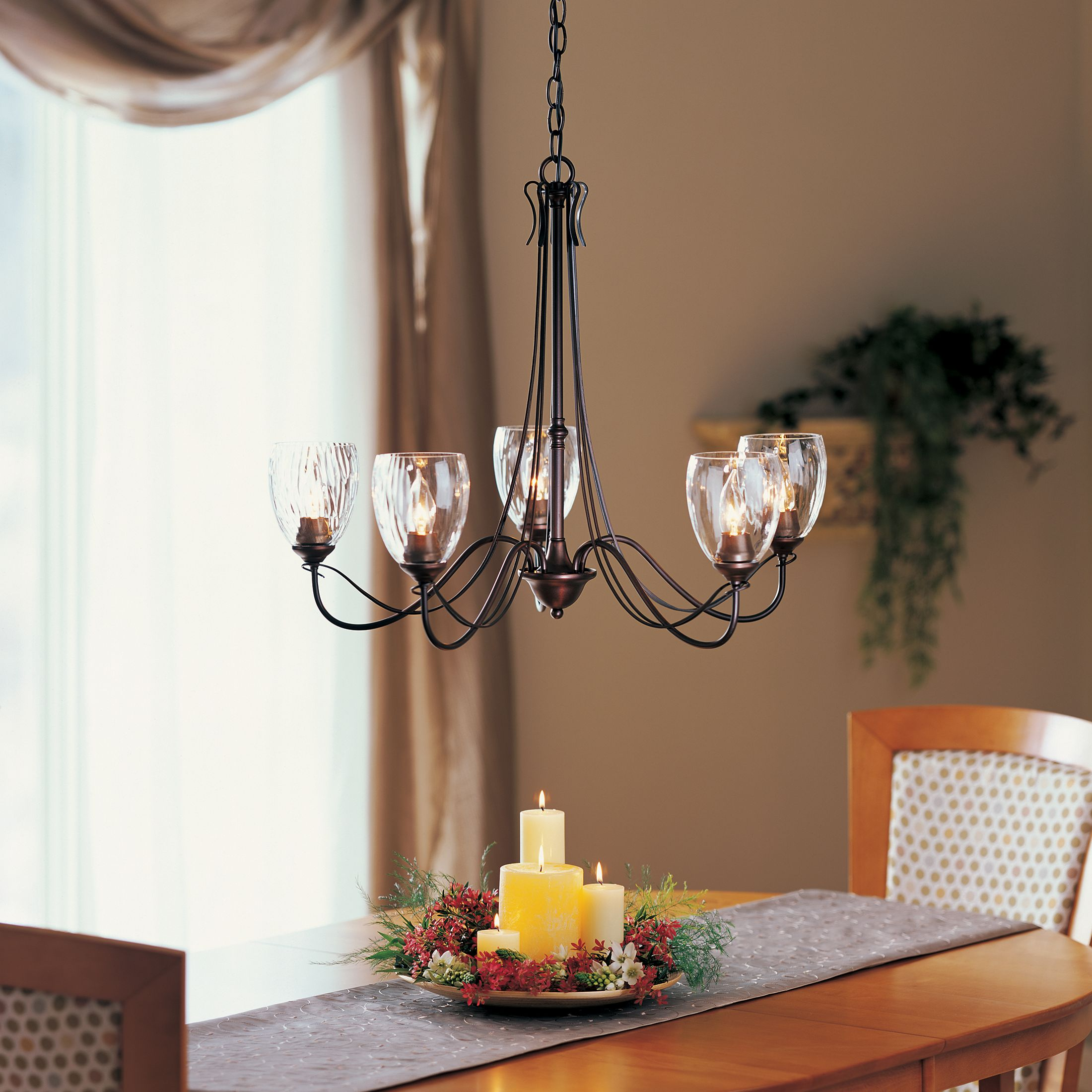 Hubbardton Forge Double Cirque Large: Hubbardton Forge Chandeliers