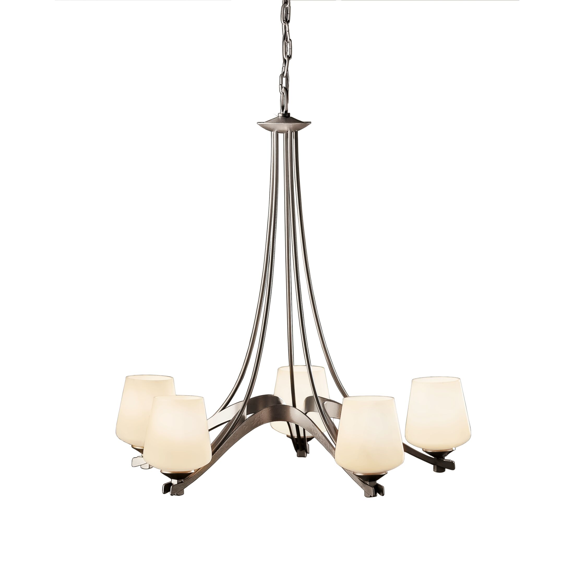 Product Detail: Ribbon 5 Arm Chandelier
