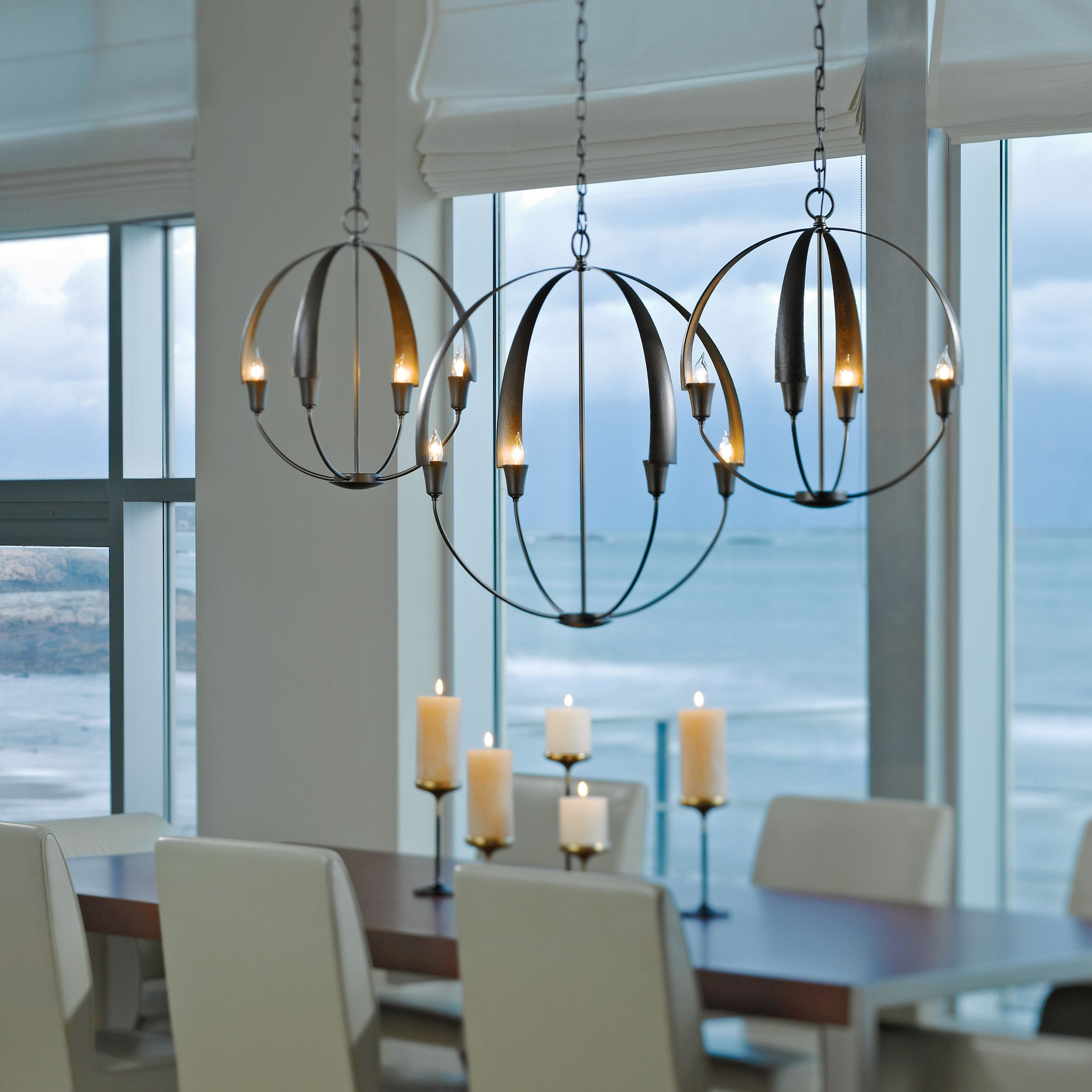 Cirque Small Chandelier – Hubbardton Forge