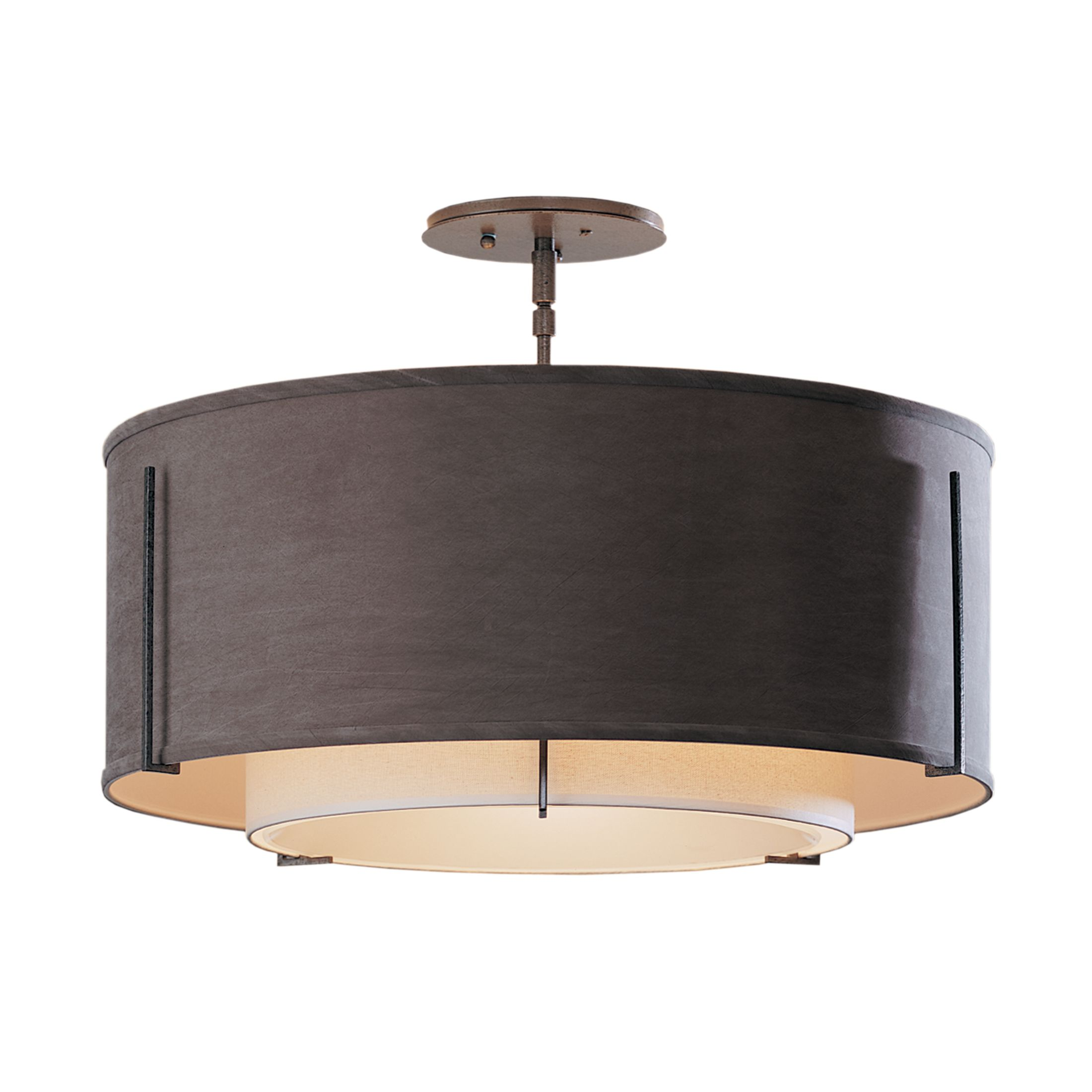 Product Detail Exos Double Shade Semi Flush
