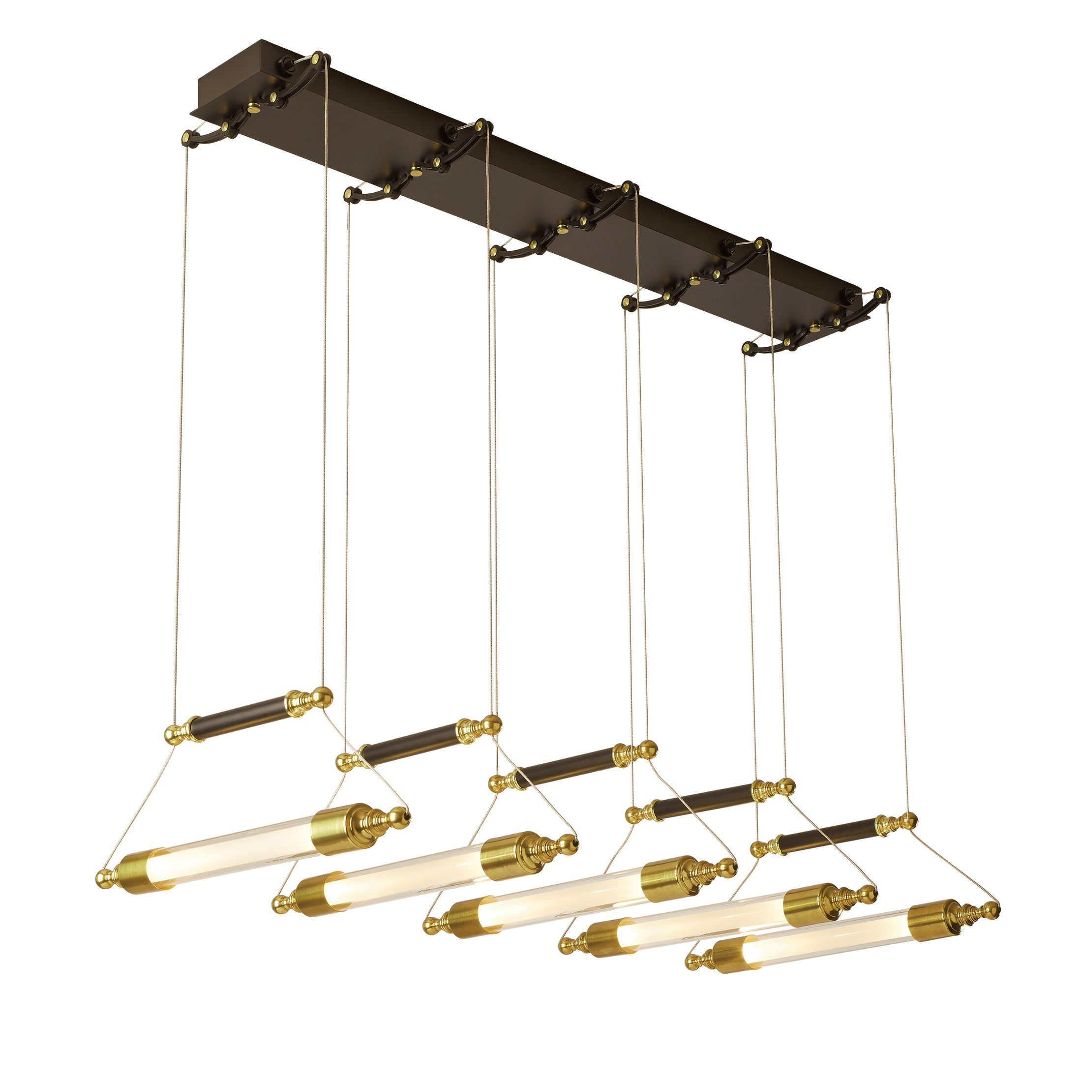 rousseau cluster bronze today shipping free glass overstock pendant brass product valley hudson aged home metal garden light