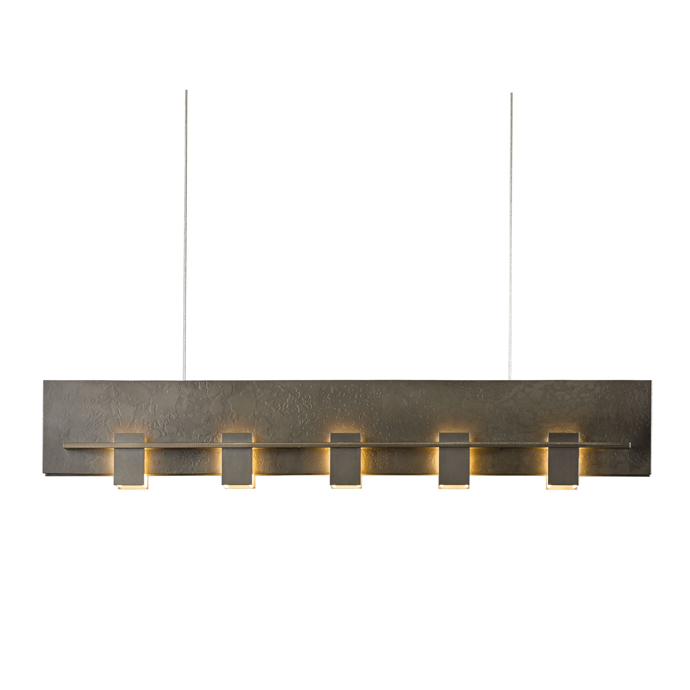 Hubbardton Forge Twilight: Aperture Vertical Sconce