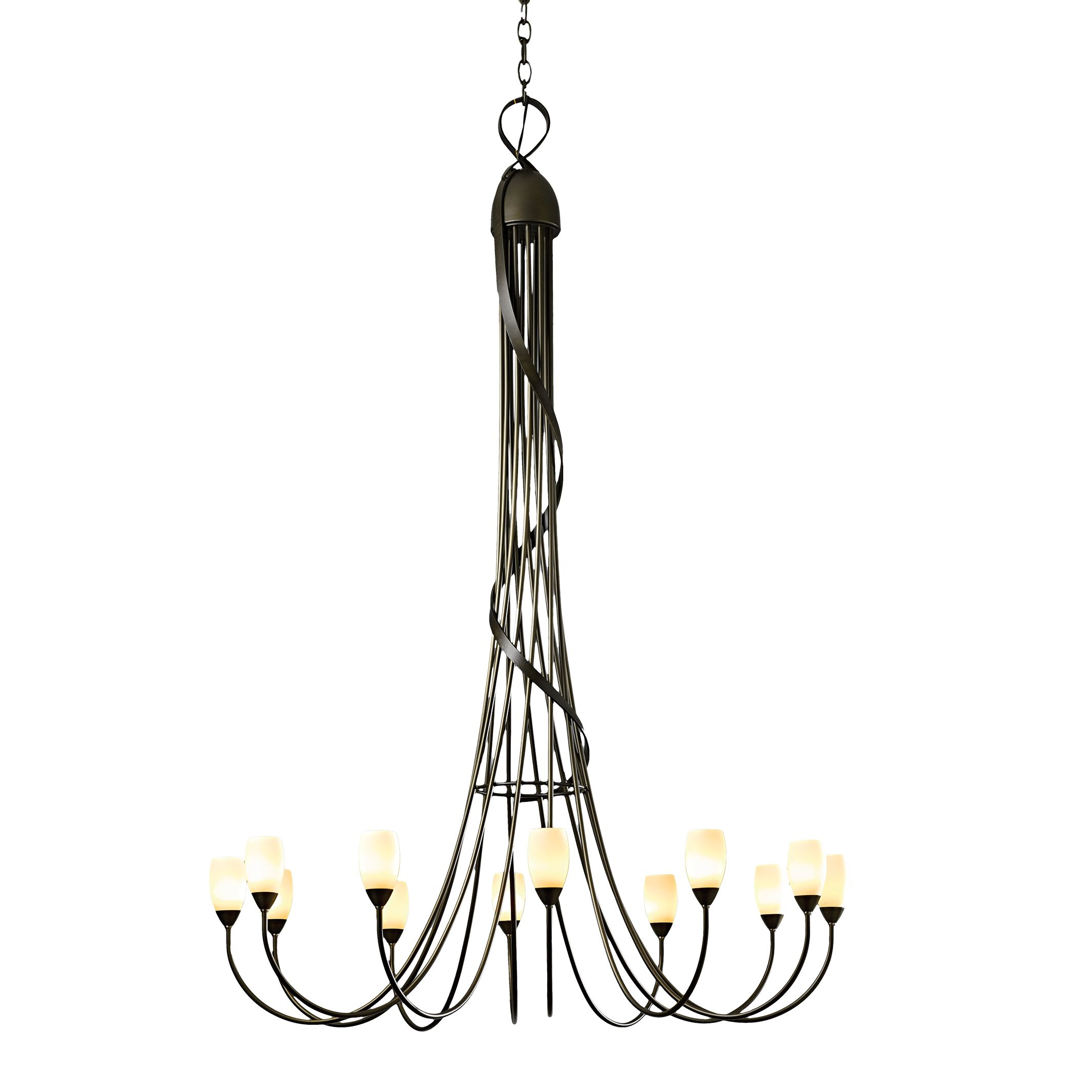 Hubbardton Forge Sweeping Taper: Sweeping Taper 5 Arm Chandelier