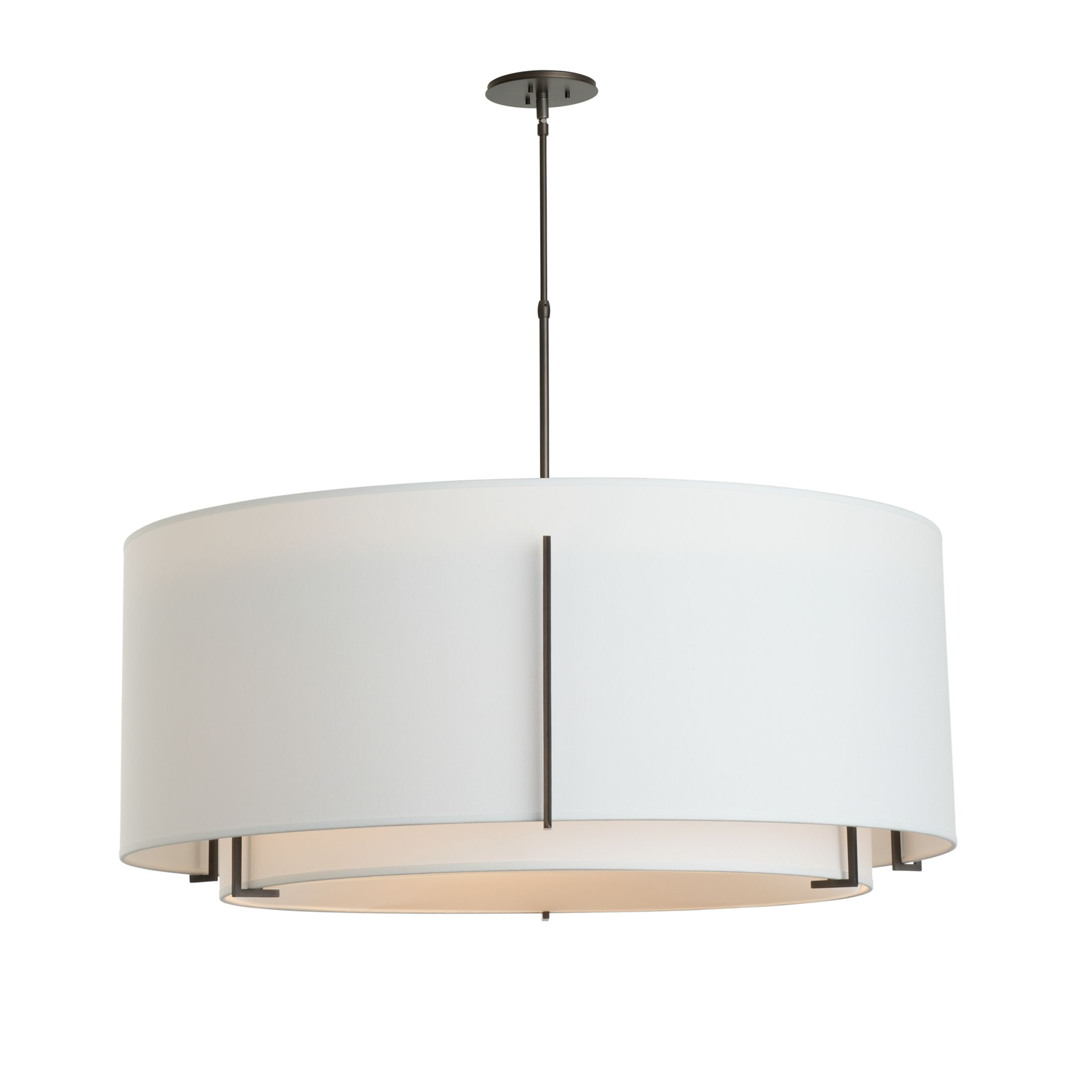Product Detail: Exos Double Shade Large Scale Pendant