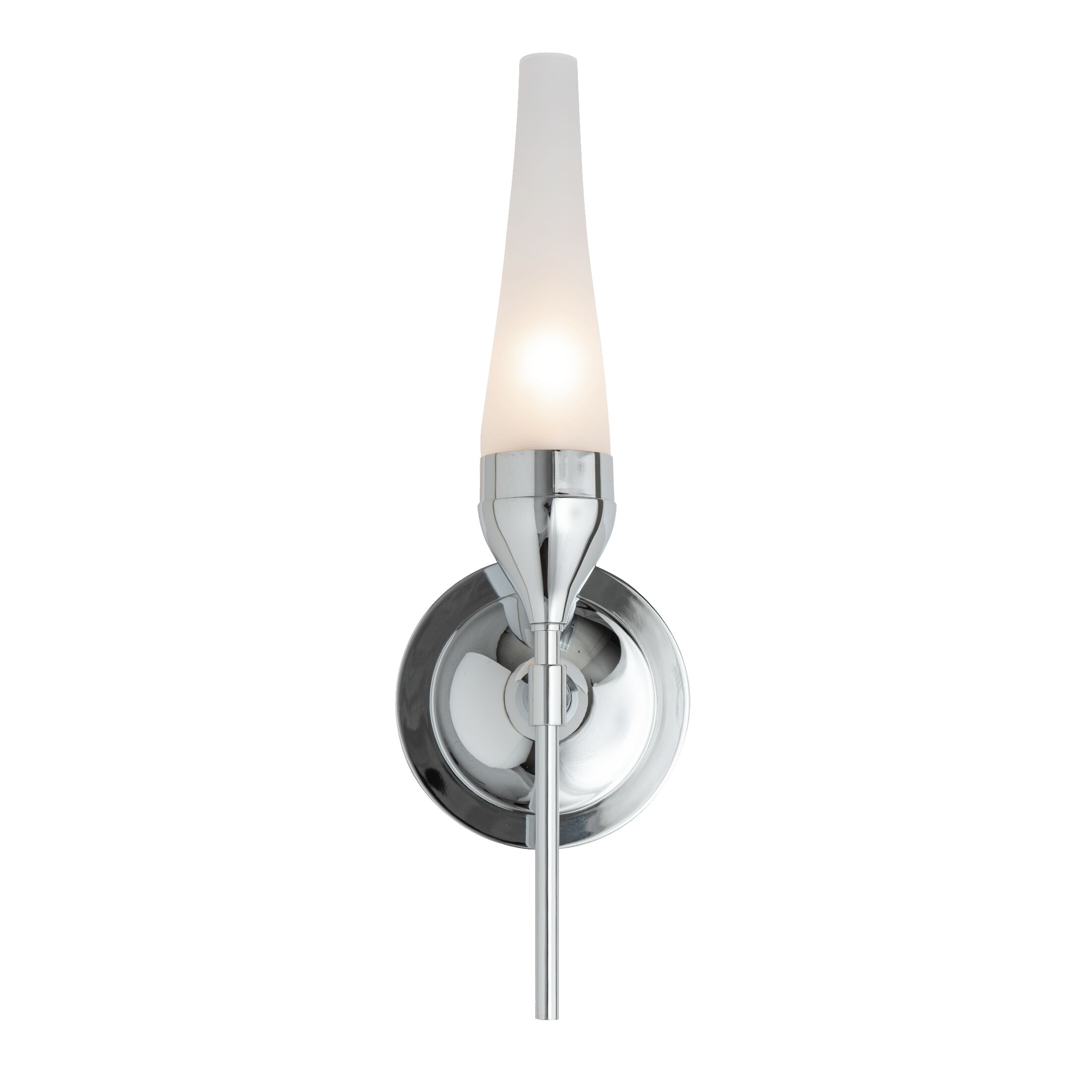 Thumbnail for Tulip Single Sconce with Hurricane Glass
