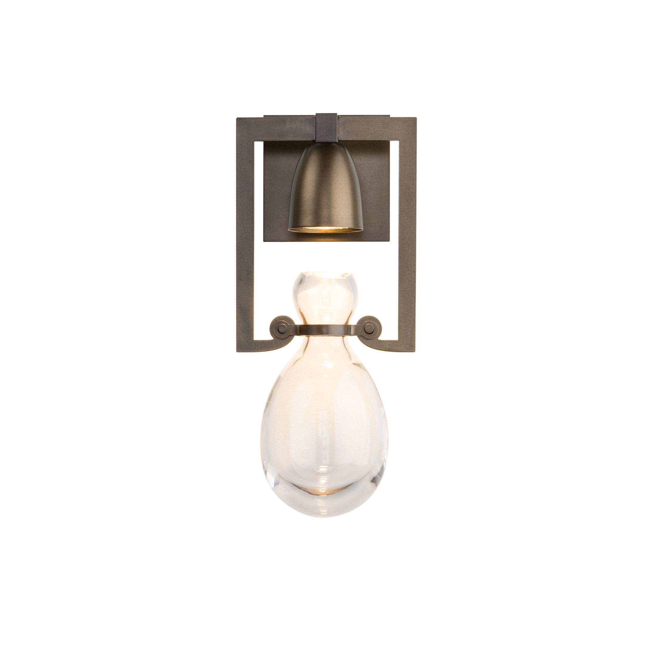 hubbardton sconce forge product shard led products outdoor small detail