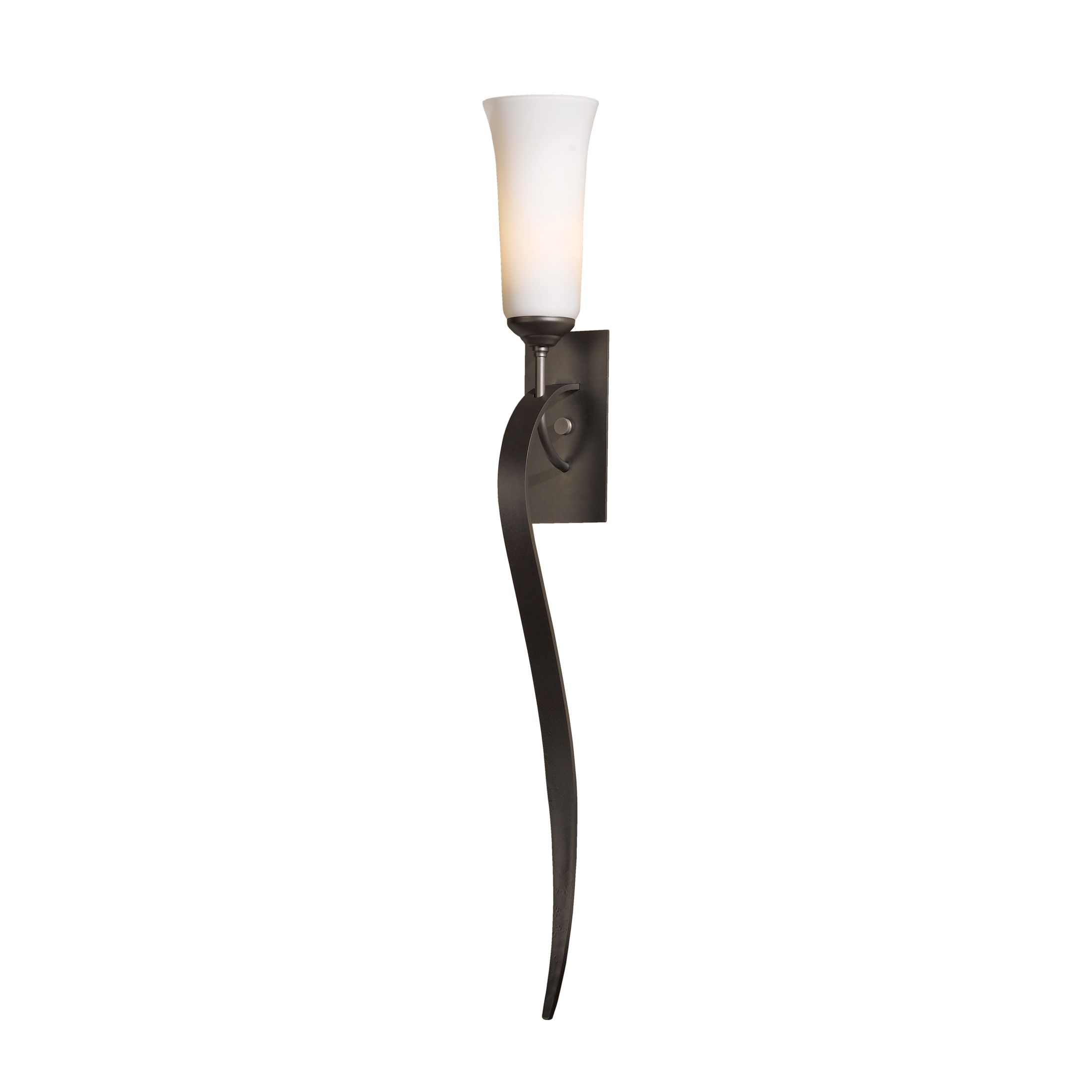 Hubbardton Forge Flora Sconce: Sweeping Taper 3 Arm Chandelier
