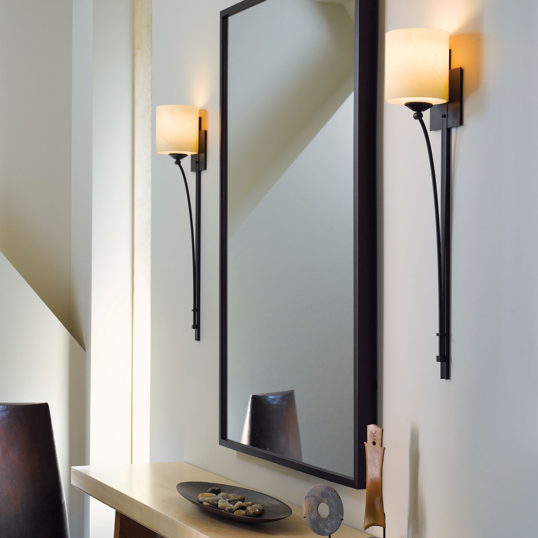 Lighting sconces for living room Commercial Wall 2046701007thumb Hubbardton Forge Formae Contemporary Light Sconce Hubbardton Forge