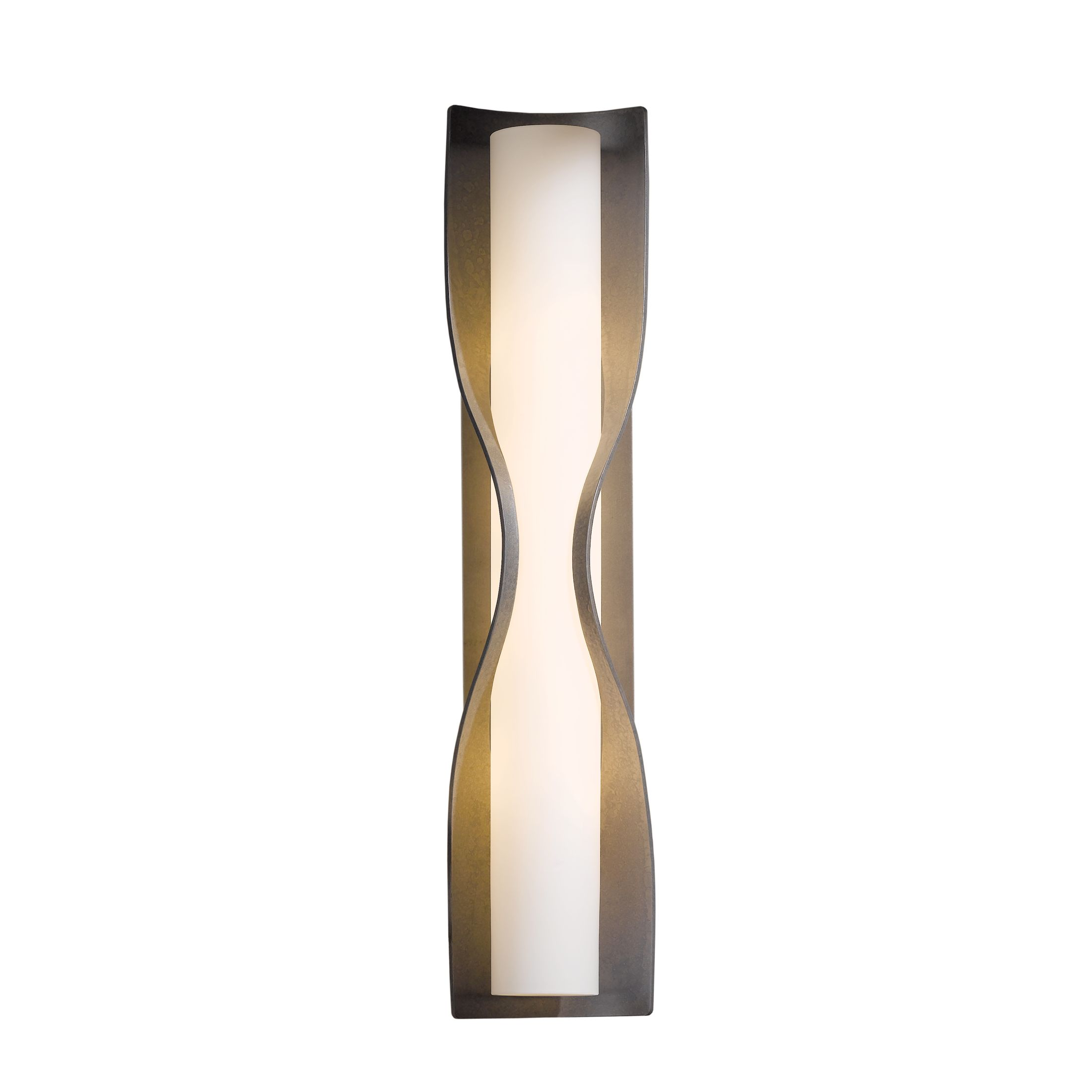 Hubbardton Forge Oculus: Forged Bar Swing Arm Sconce