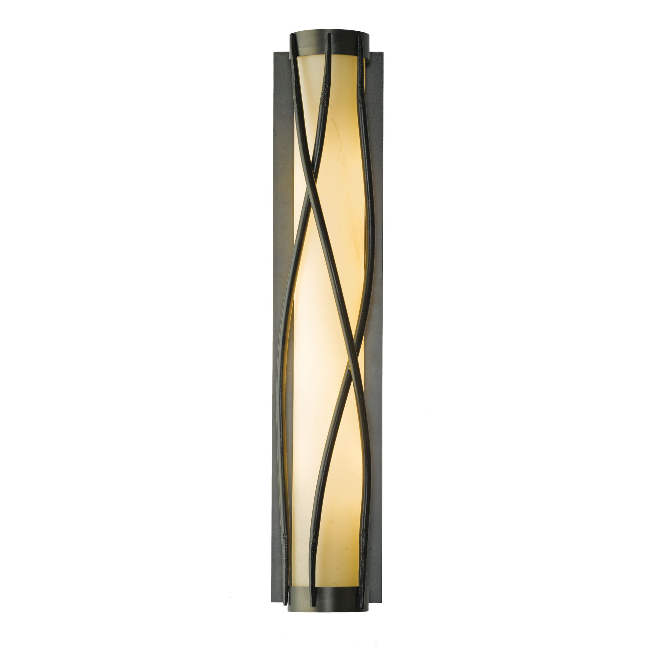 large sconce in hubbardton rook forge outdoor bronze coastal