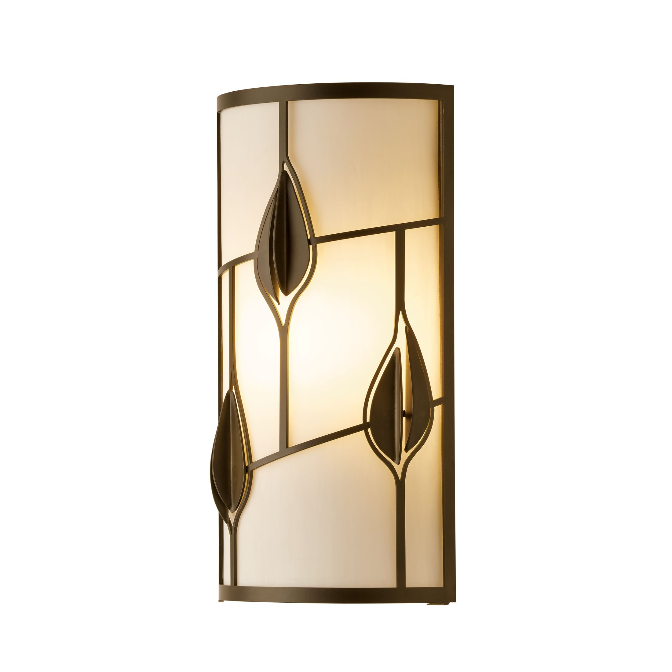 Hubbardton Forge Flora Sconce: Traditional 1 Light Sconce