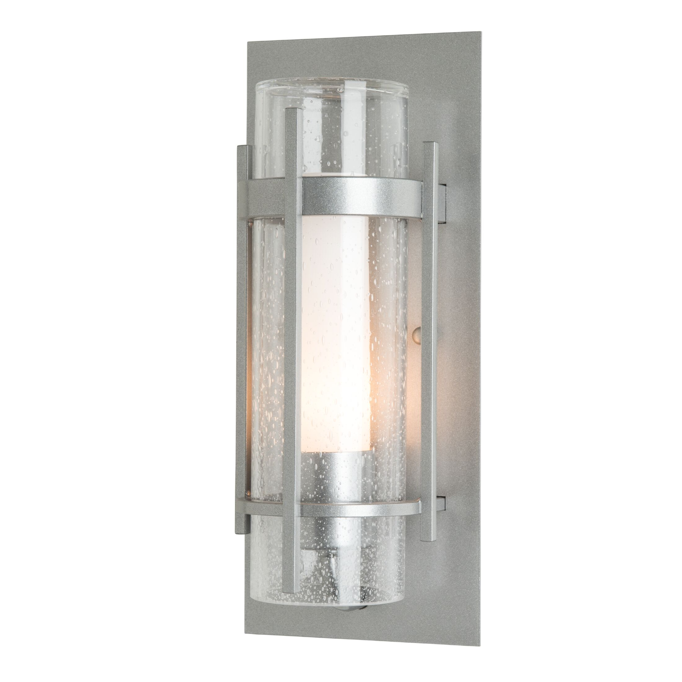 Thumbnail for Banded Seeded Glass Indoor Sconce