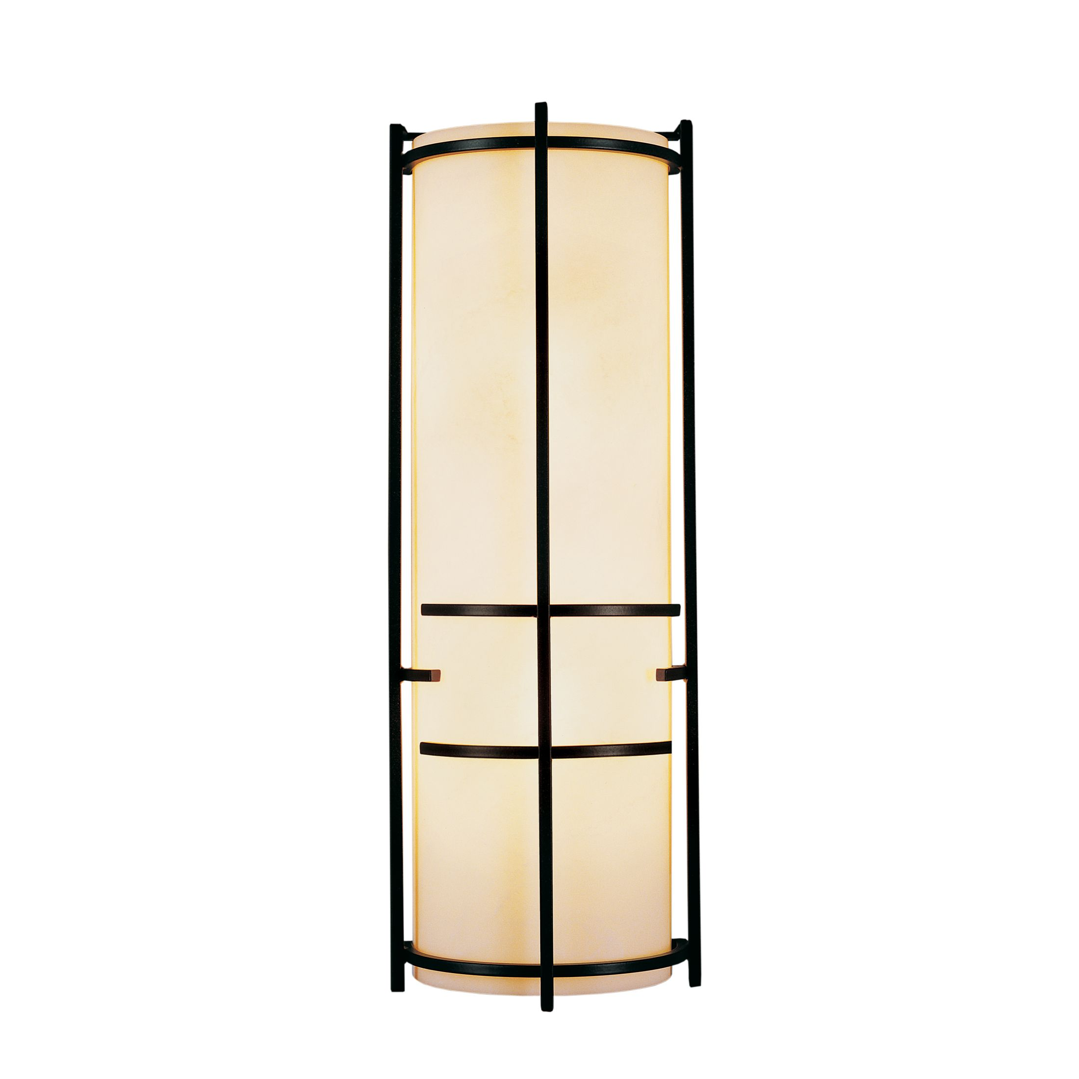 Hubbardton Forge Flora Sconce: Banded Wall Torch Sconce