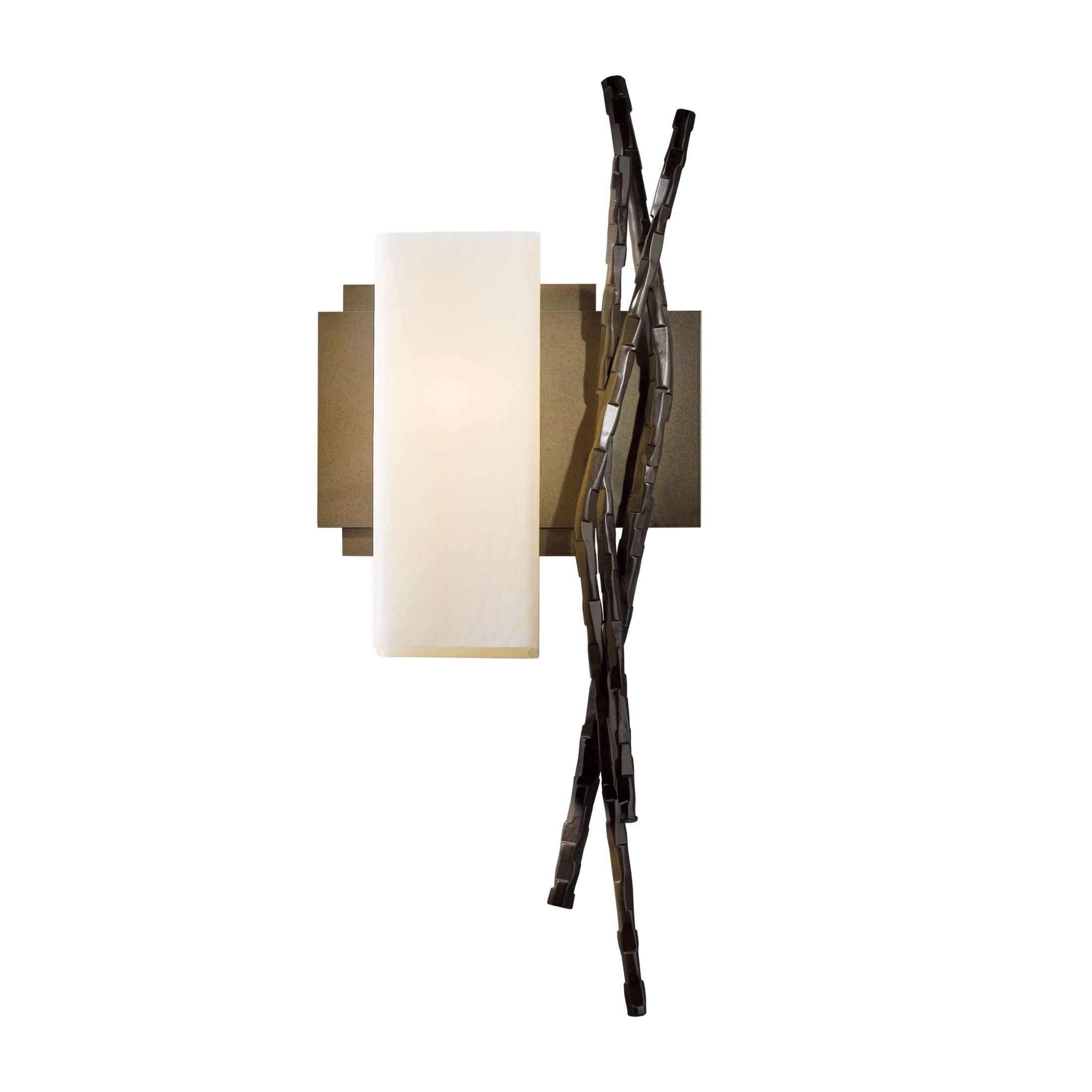 Hubbardton Forge Metra Double Floor Lamp: Brindille Table Lamp