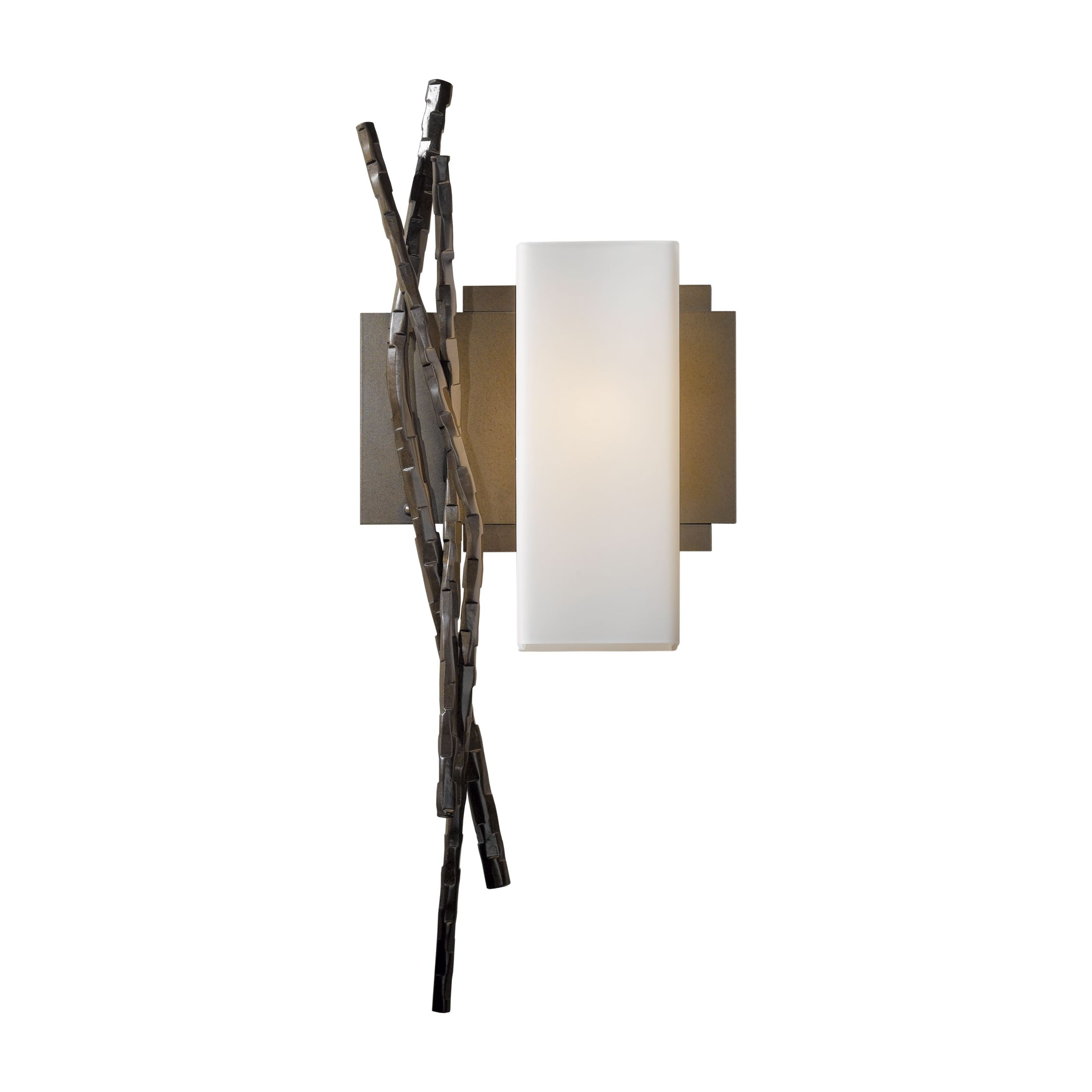 lighting hubbardton wrought sconce wall exos wave iron products forge