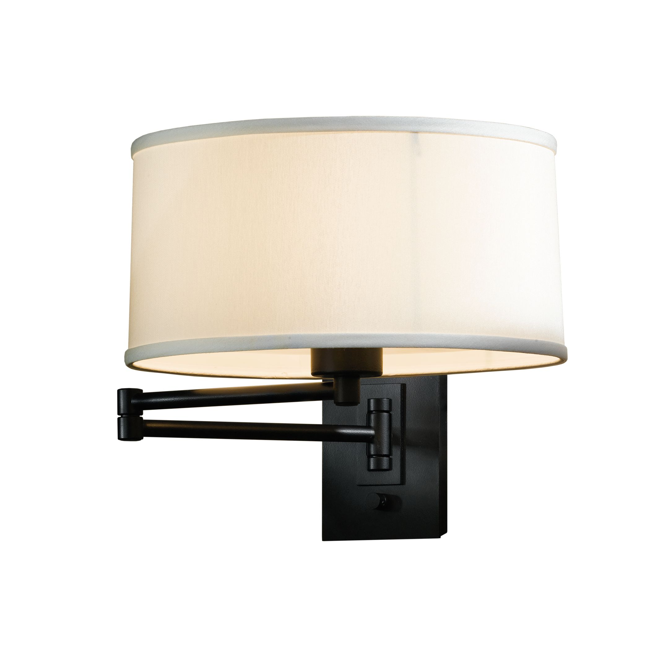 Hubbardton Forge New Town Sconce: Forged Leaf And Stem Sconce