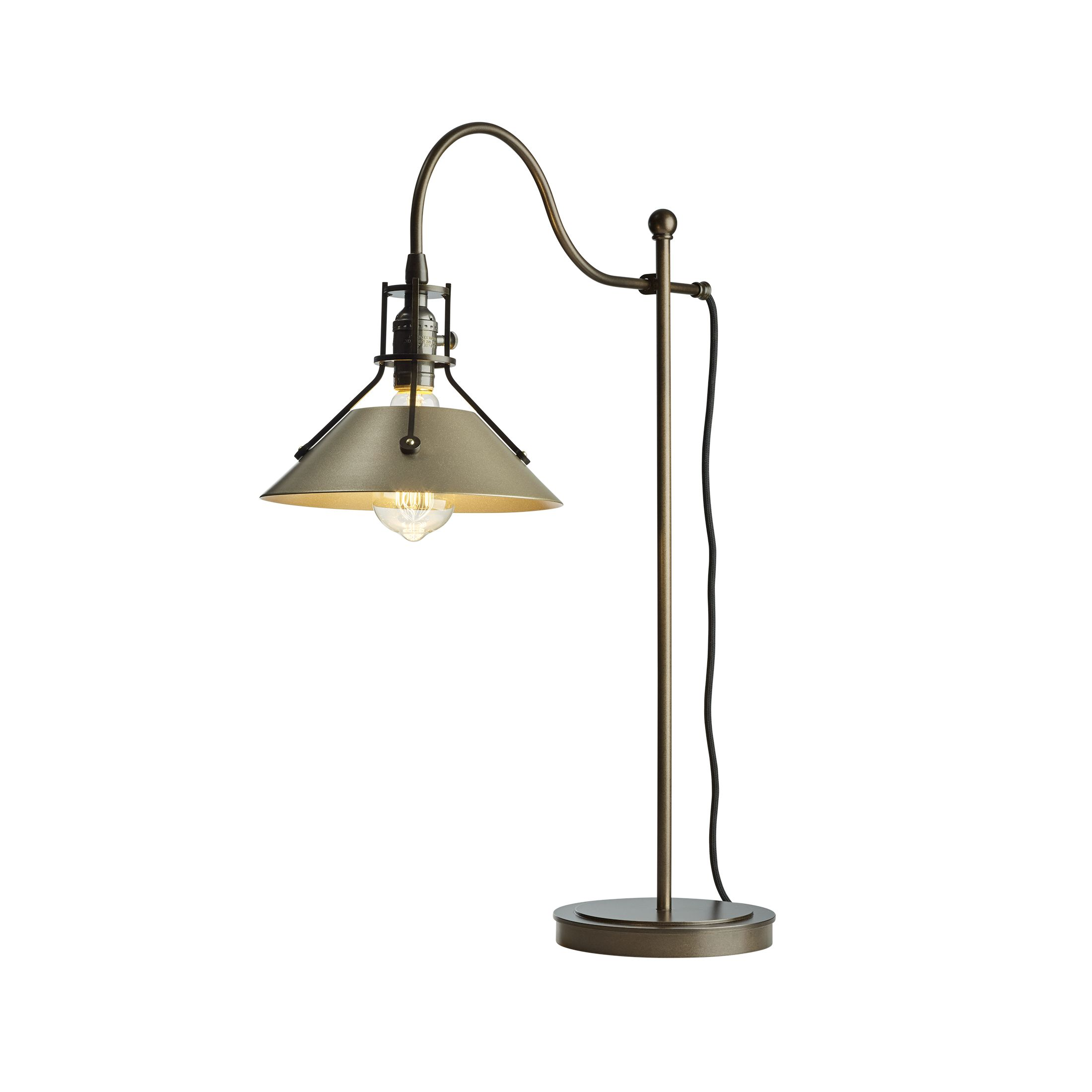 Table lamps products hubbardton forge 272840 henry table lamp aloadofball Images