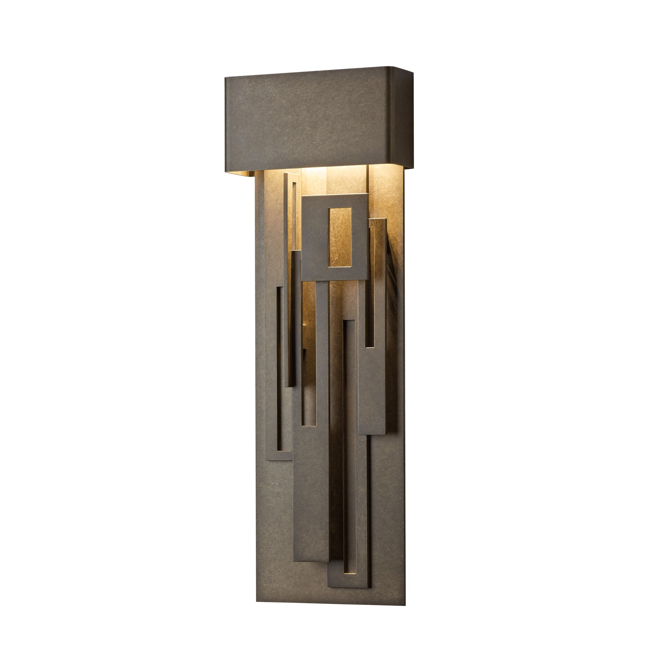 outdoor products – hubbardton forge -  collage large led outdoor sconce