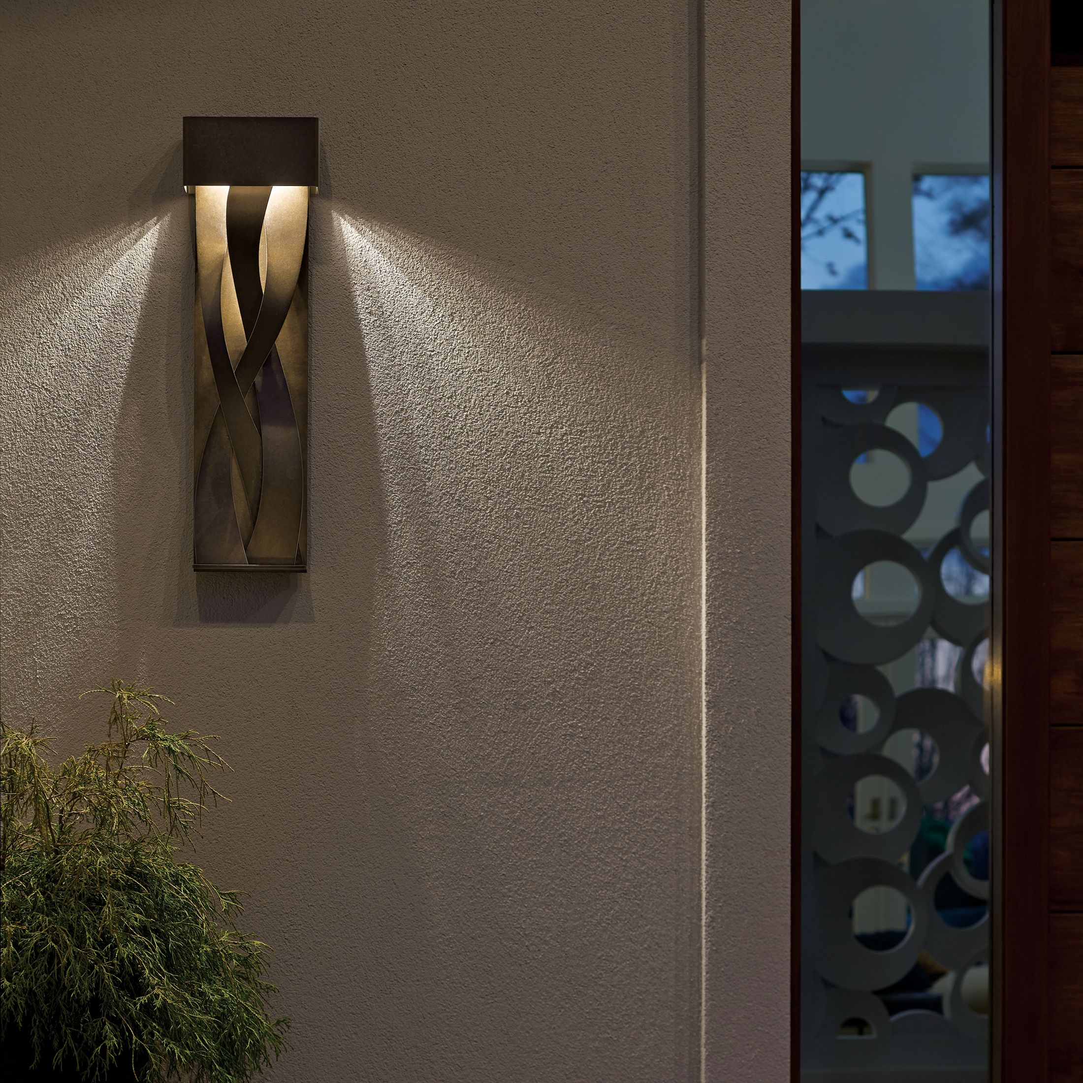 premium selection a854d 1befe Tress Large Dark Sky Friendly LED Outdoor Sconce ...