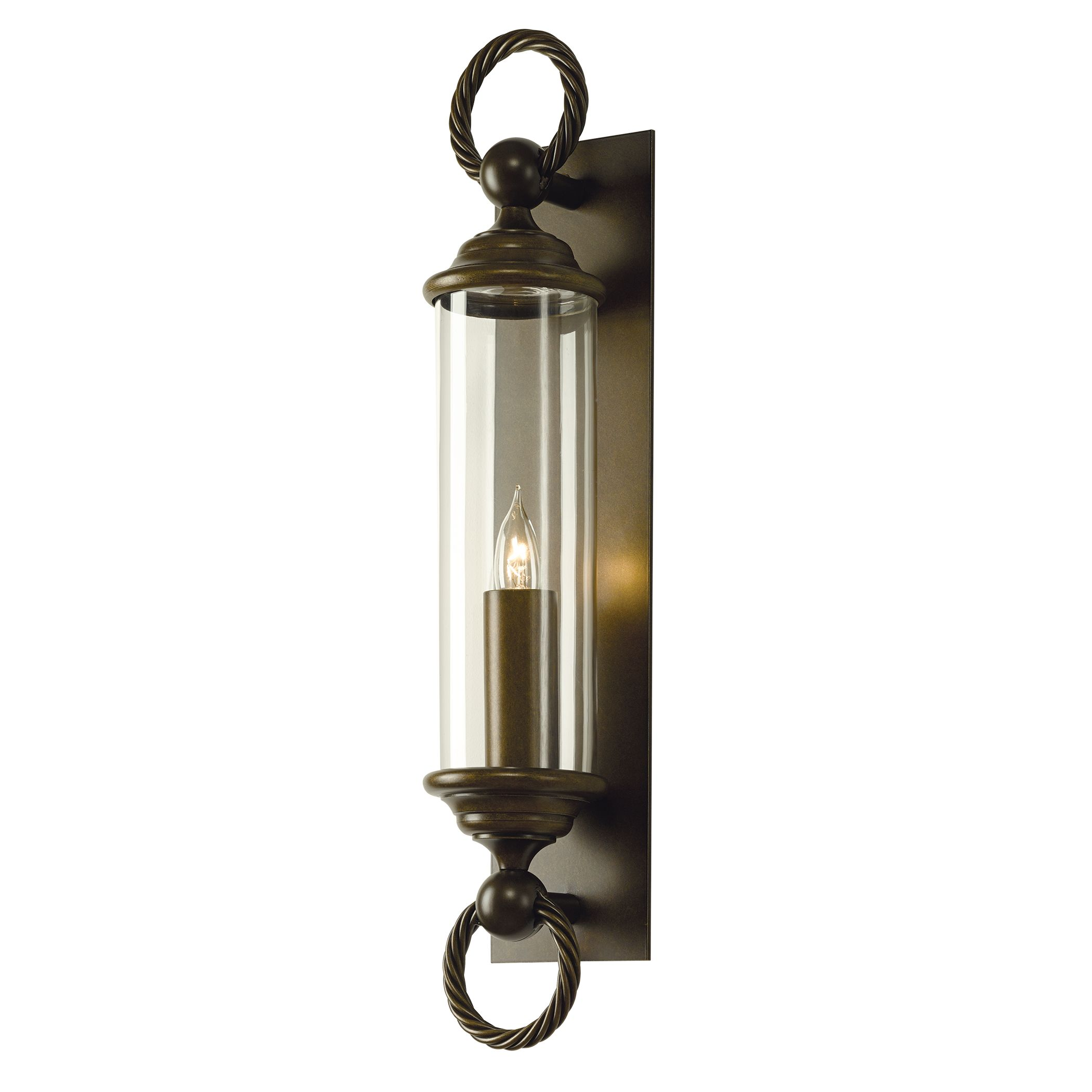 cavo large outdoor wall sconce – hubbardton forge - product detail cavo large outdoor wall sconce