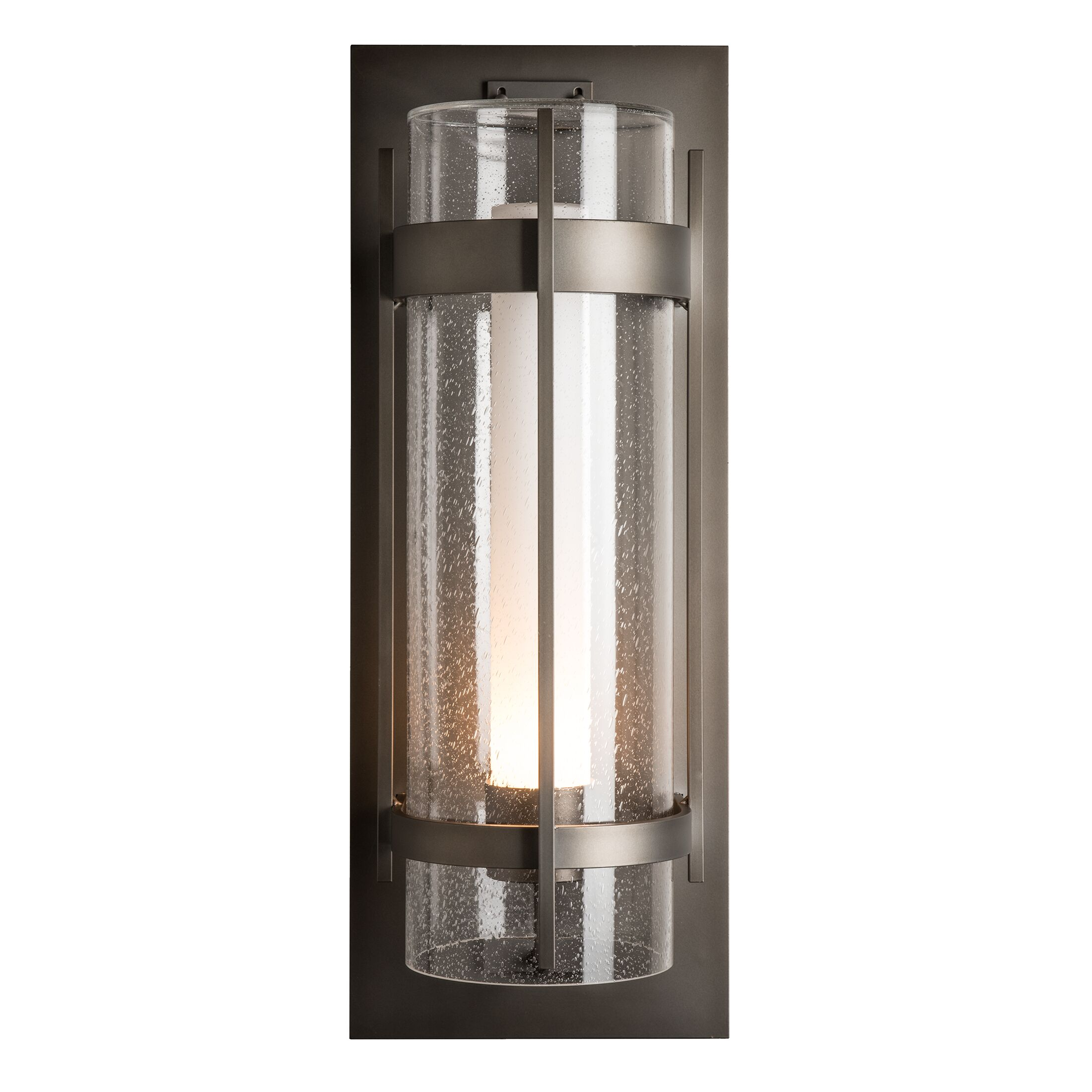 Thumbnail for Banded Seeded Glass XL Outdoor Sconce