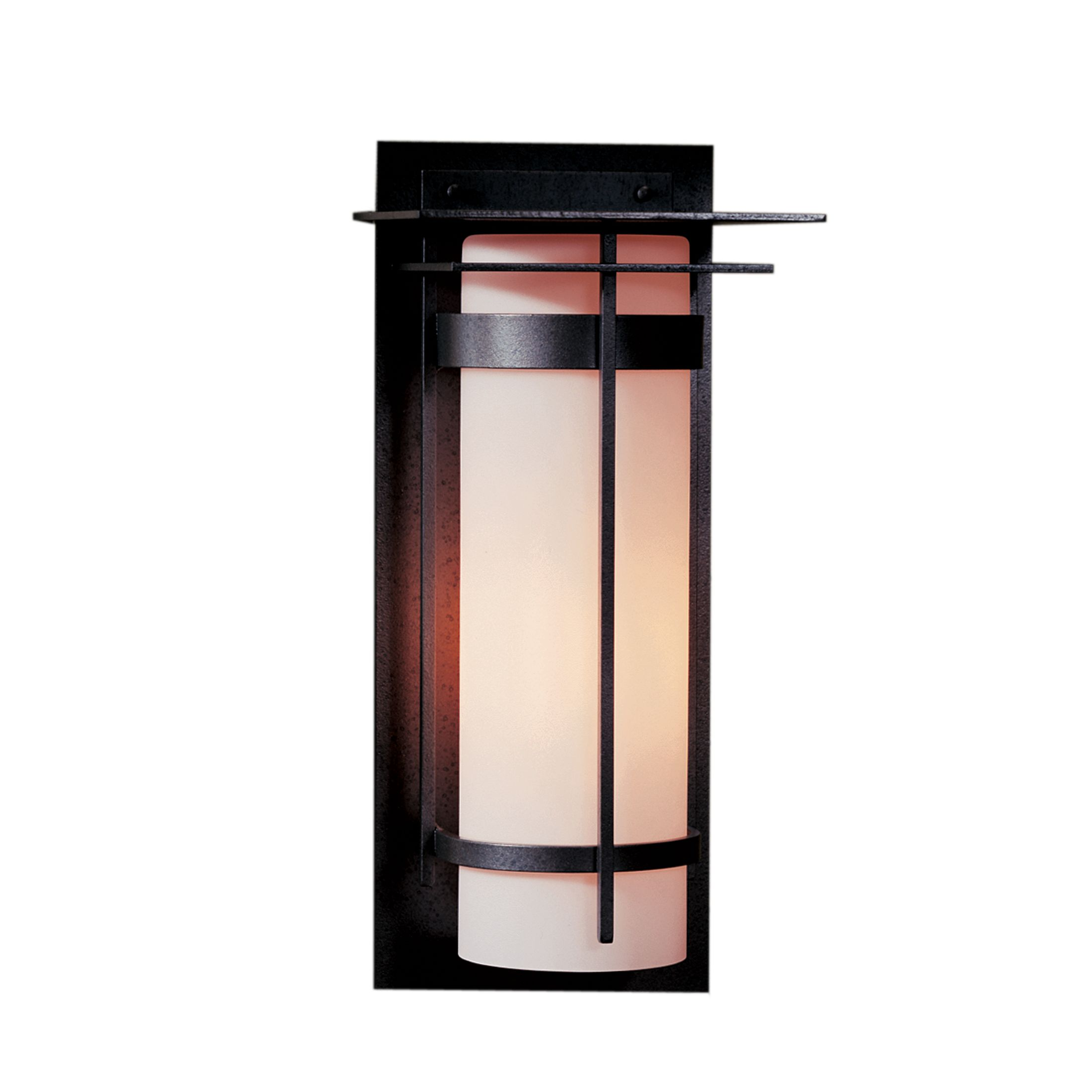 Banded with Top Plate Extra Large Outdoor Sconce – Hubbardton Forge
