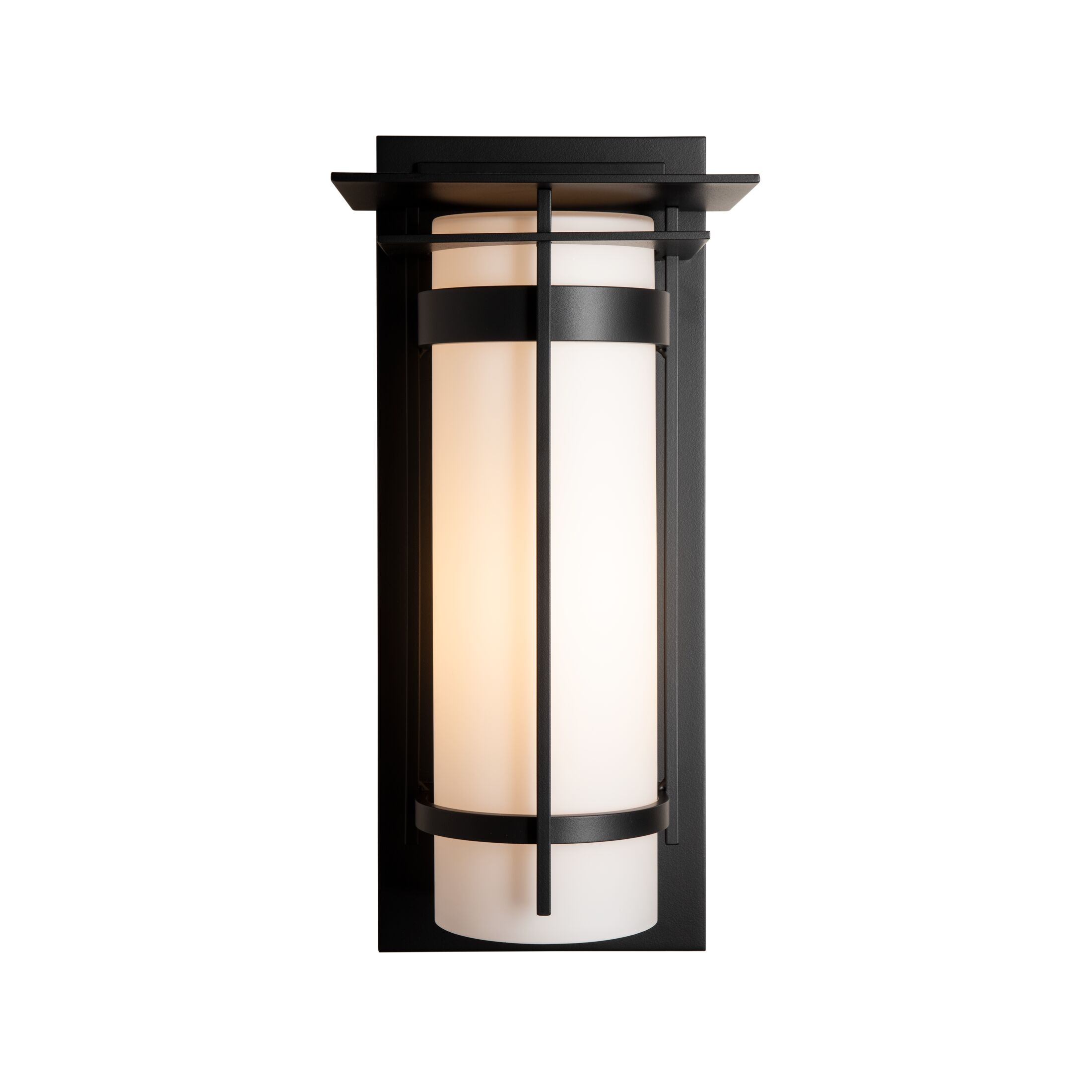 Thumbnail for Banded with Top Plate Large Outdoor Sconce