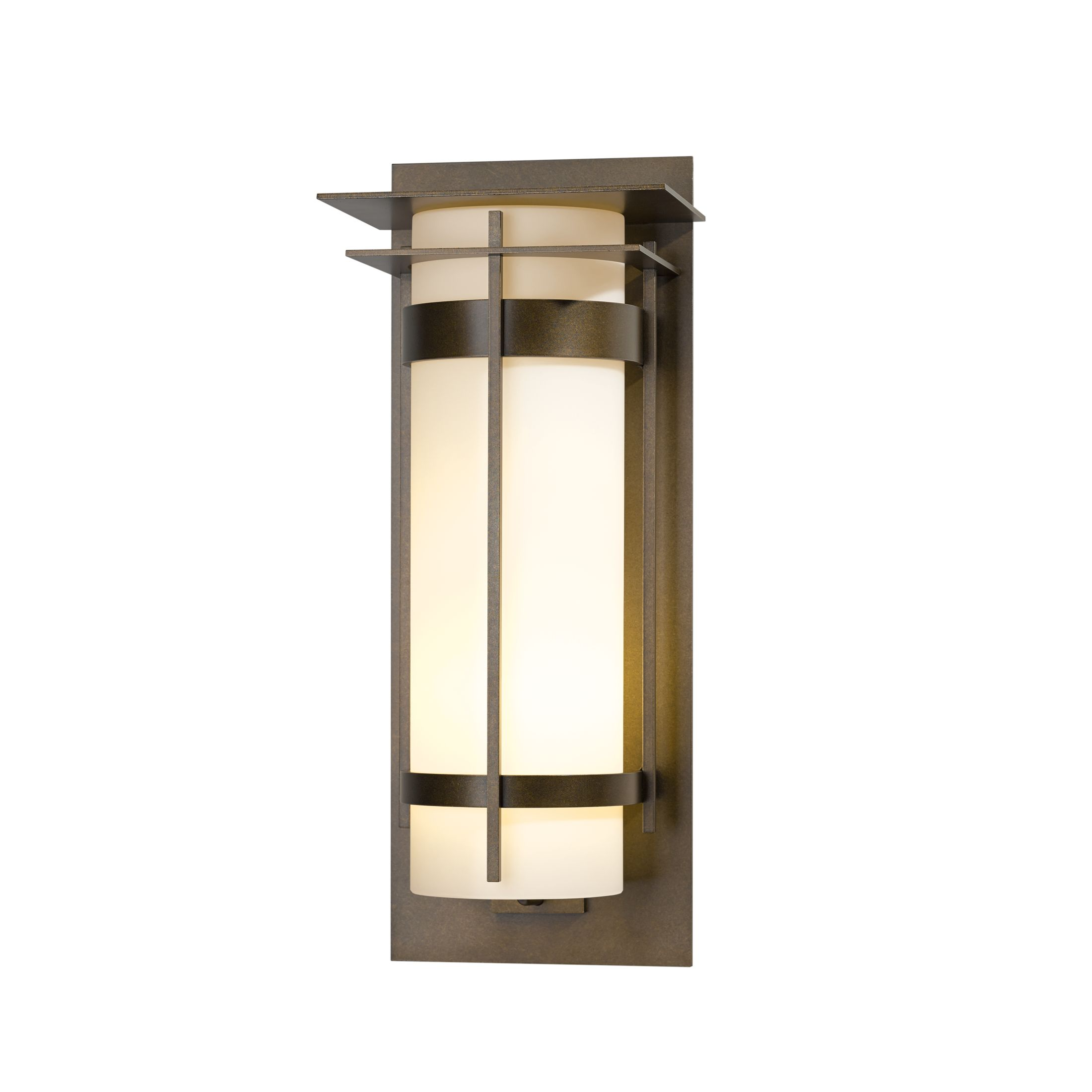 Thumbnail for Banded with Top Plate Extra Large Outdoor Sconce