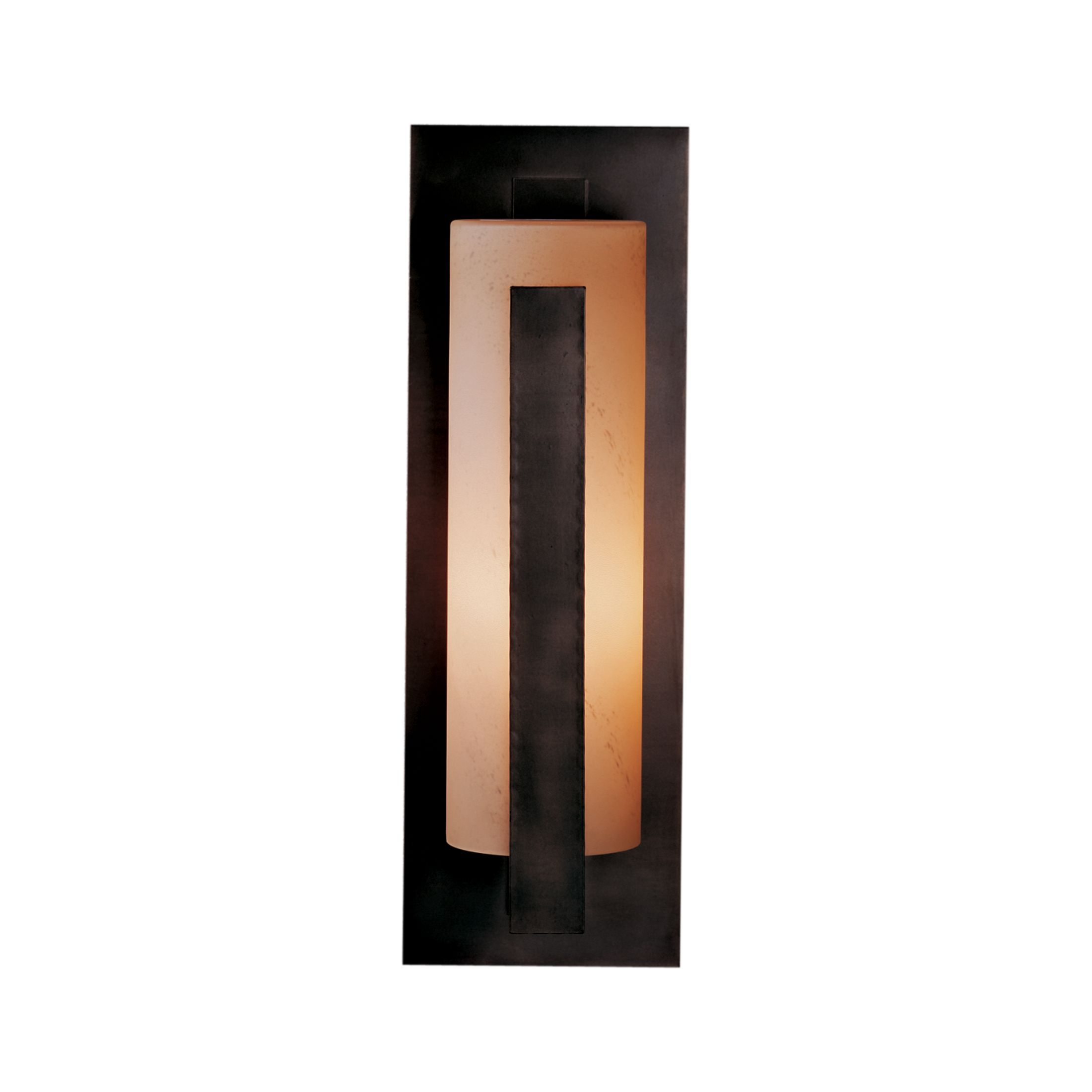 Thumbnail for Forged Vertical Bars Large Outdoor Sconce
