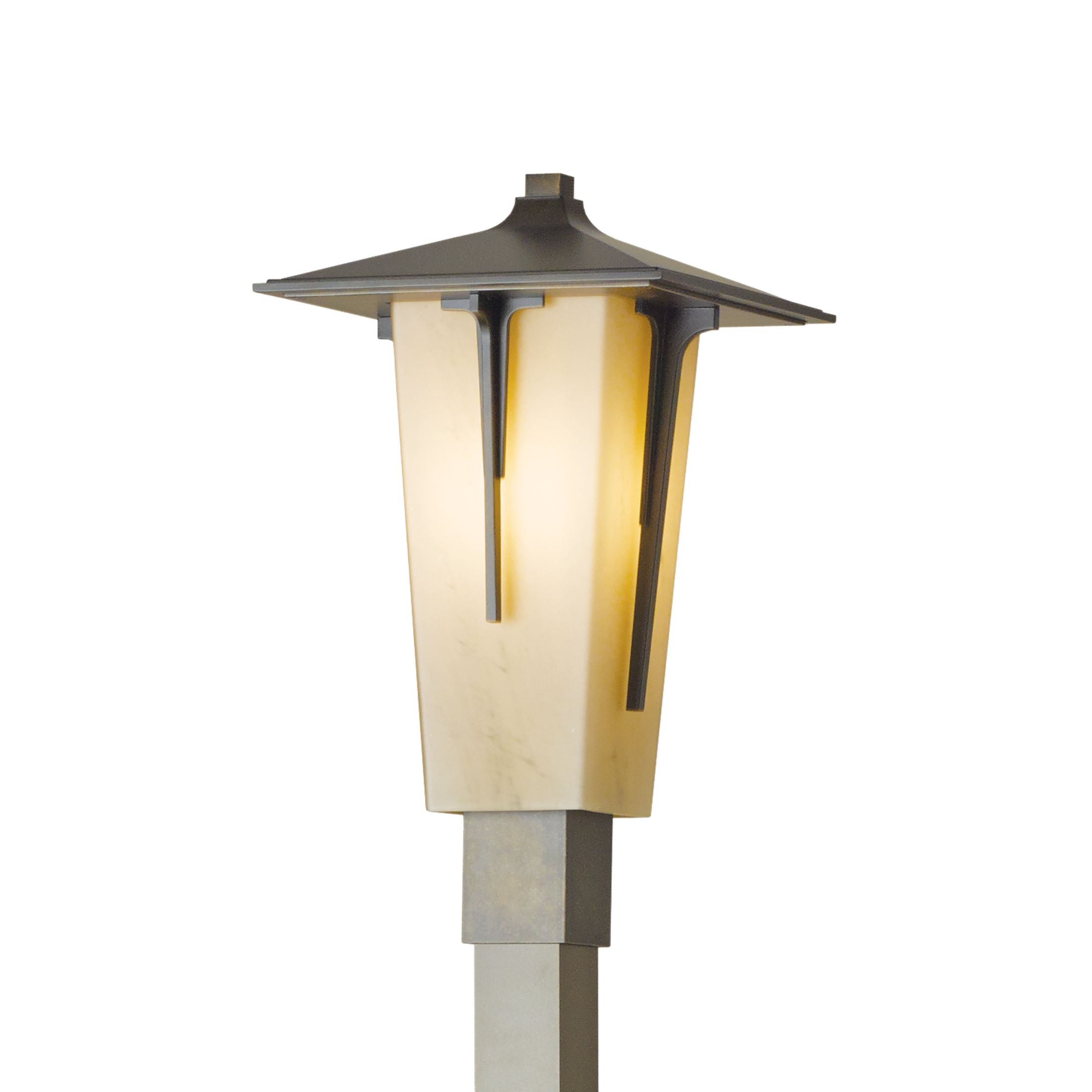 Modern prairie outdoor post light hubbardton forge mozeypictures Choice Image
