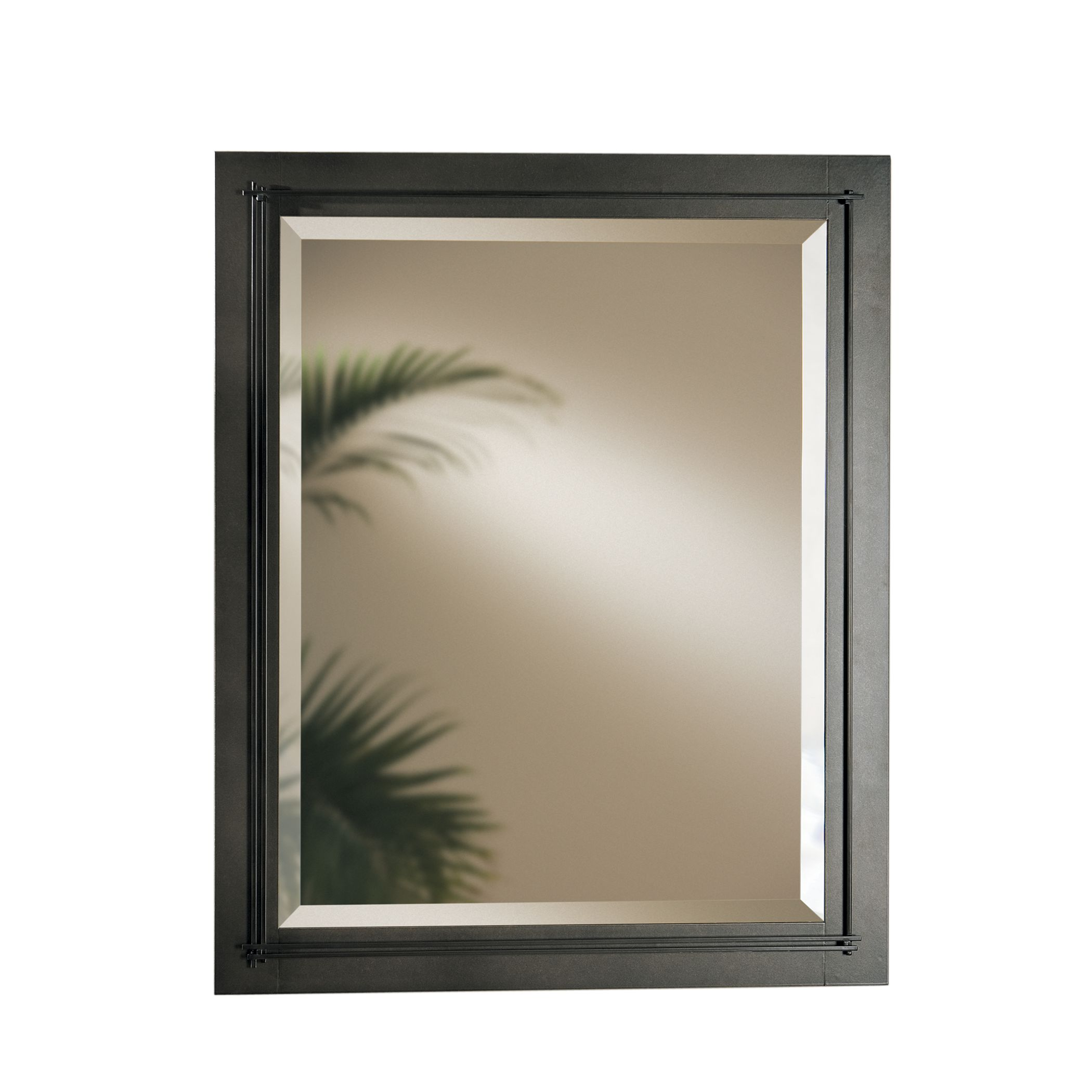 metra large beveled mirror hubbardton forge