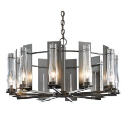 103290 New Town 10 Arm Chandelier