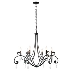 105057 Stella 6 Arm Chandelier