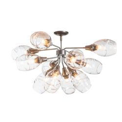 124372 Ensemble 12-Light Semi-Flush