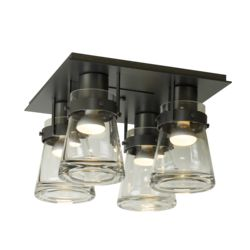 128710 Erlenmeyer 4 Light Semi-Flush