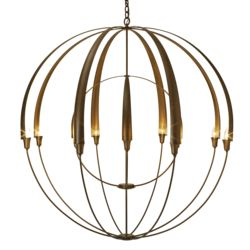 194248 Double Cirque Large Scale Chandelier