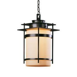HBB 365893-17-G147 One Light Opal Glass Opaque Dark Smoke Hanging Lantern 1X150A-19
