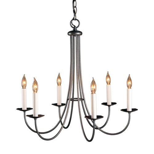 Product Detail: Simple Sweep 6 Arm Chandelier