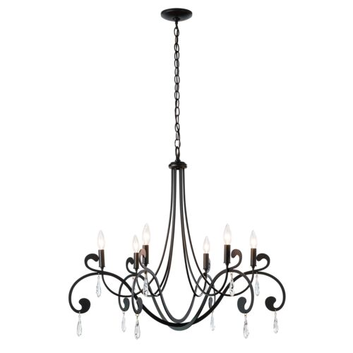 Product Detail: Stella 6 Arm Chandelier