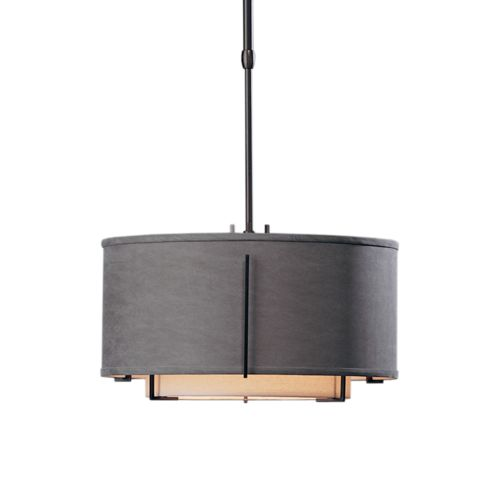 Exos Small Double Shade Pendant Hubbardton Forge