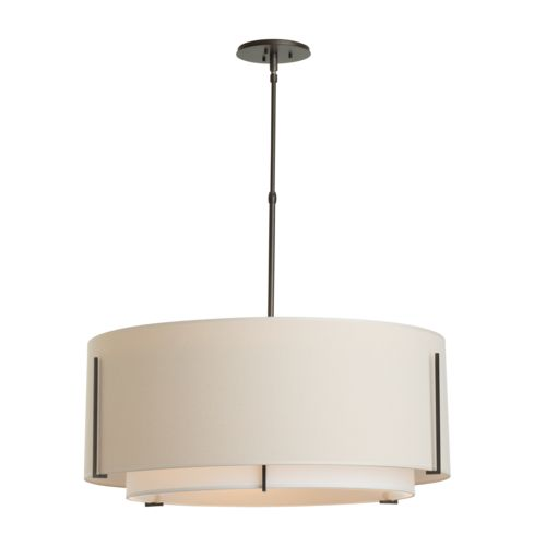 Product Detail: Exos Large Double Shade Pendant