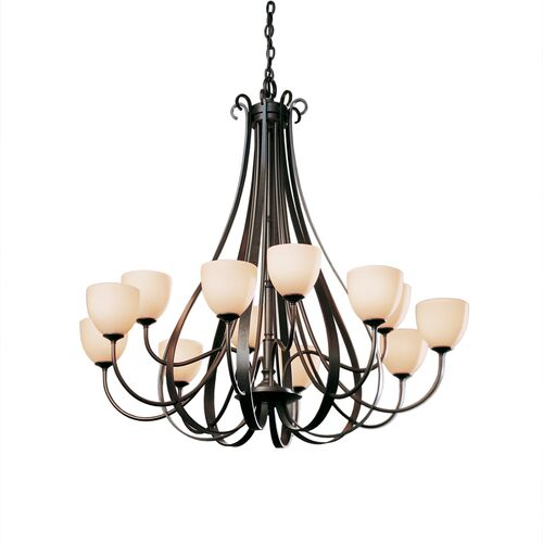 Product Detail: Sweeping Taper 12 Arm Chandelier