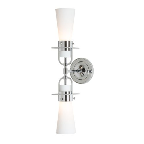 Product Detail: Castleton Double 2-Light Tapered Sconce