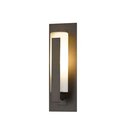 Product Detail: Forged Vertical Bars Small Outdoor Sconce