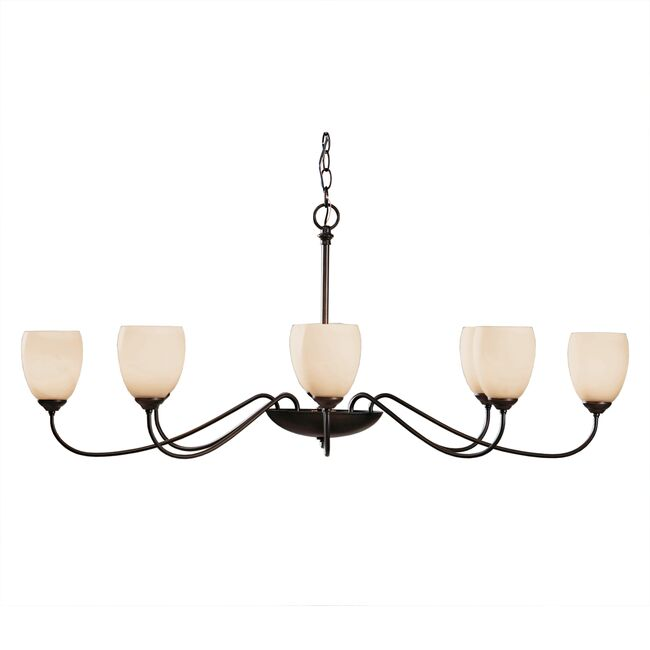 Product Detail: Oval Large 8 Arm Chandelier