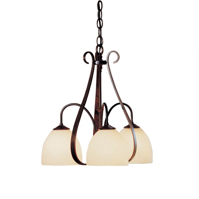 Product Detail: Sweeping Taper 3 Arm Chandelier