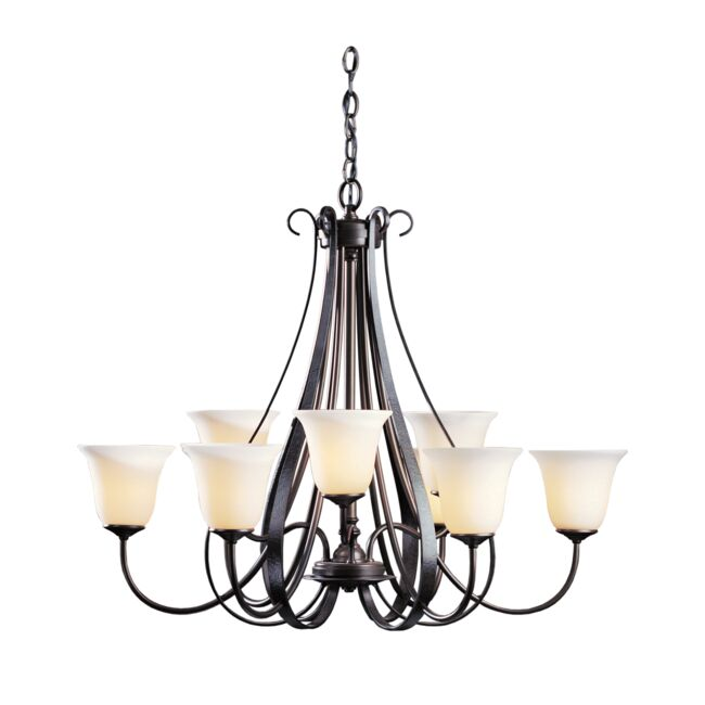 Product Detail: Sweeping Taper 9 Arm Chandelier