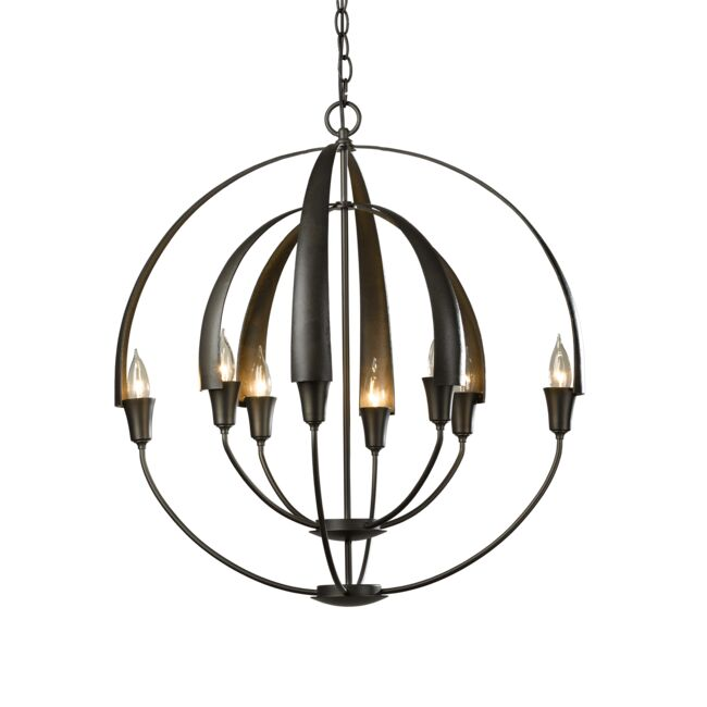 Product Detail: Double Cirque Chandelier